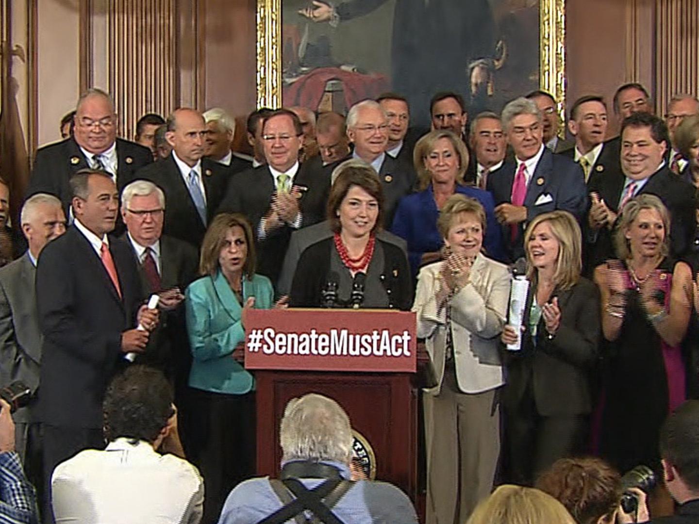 'Defund Obamacare' vote pits Cruz v. GOP