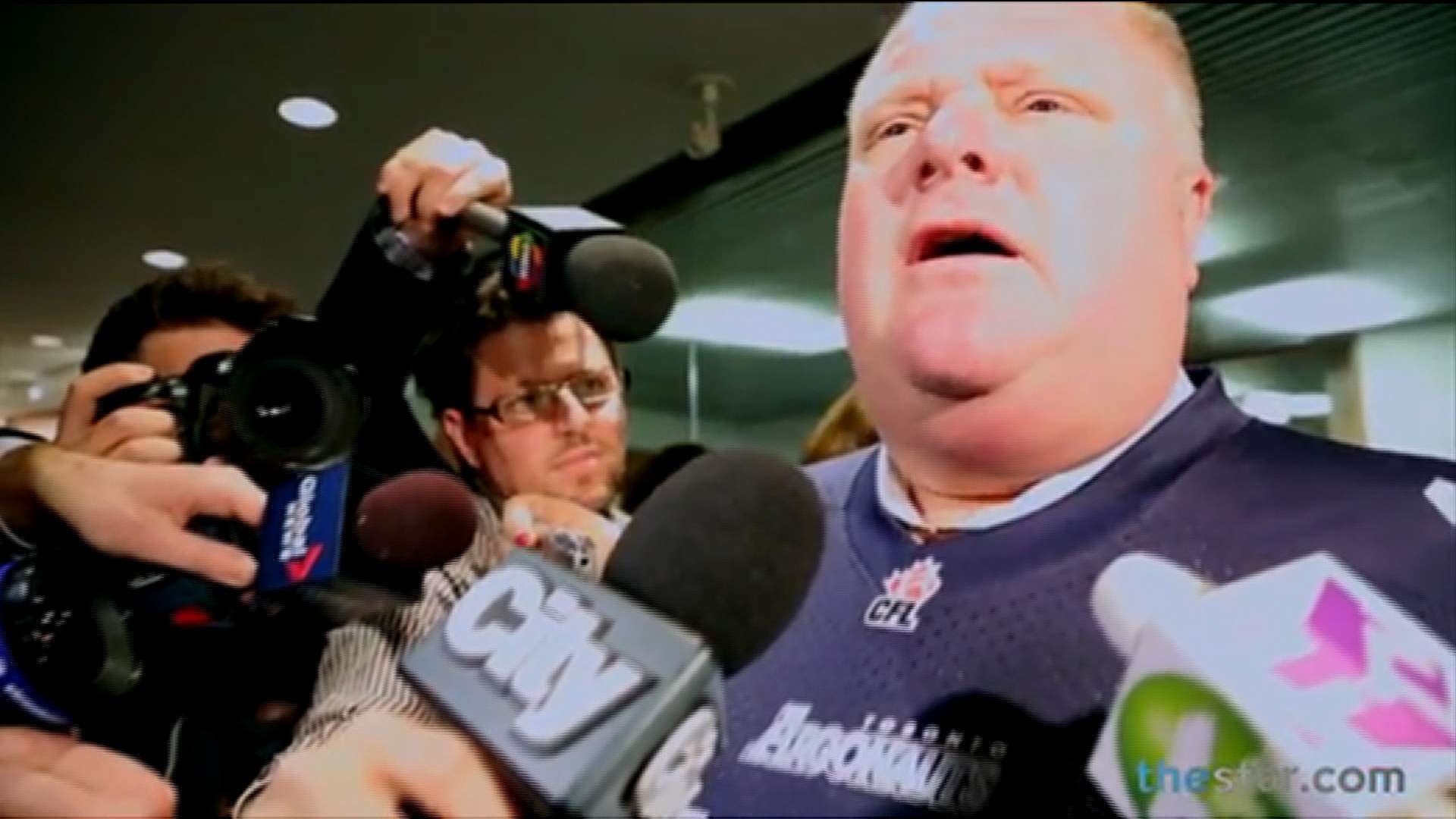 Rob Ford's fumbling Thursday