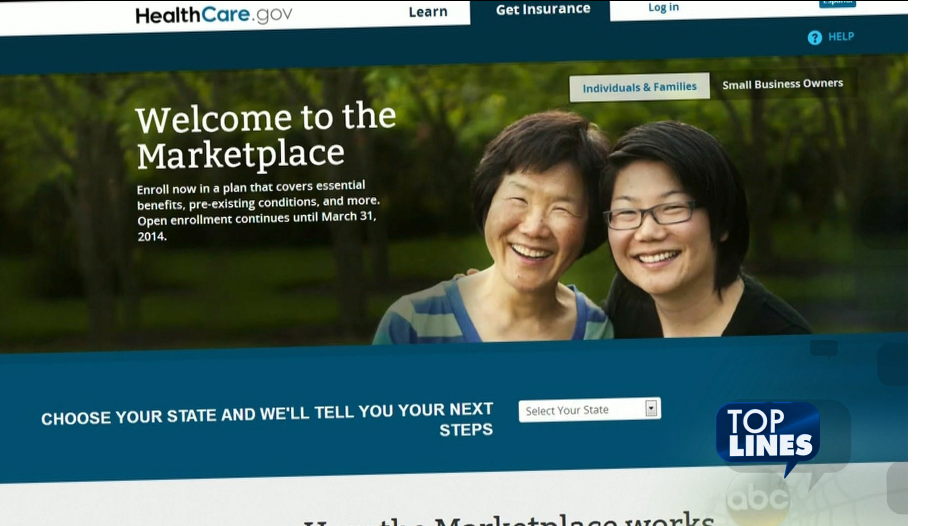 Top Lines: 'Chill out' on Obamacare exchanges