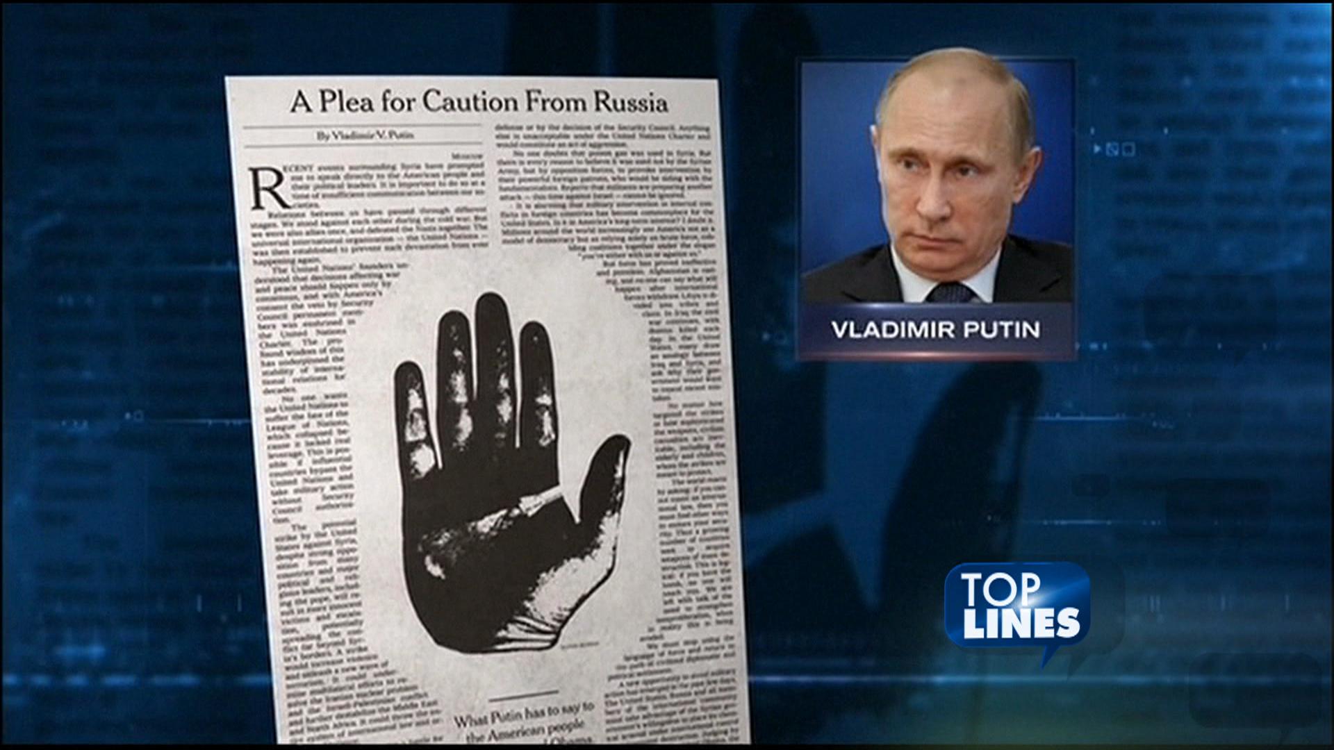 Top Lines: Kerry, Putin, Dr. Strangelove,...