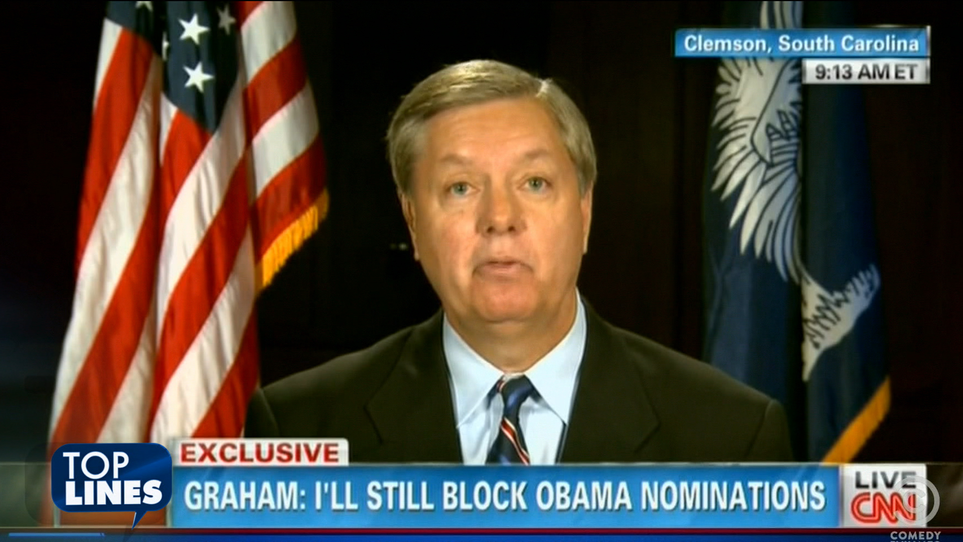 Top Lines: Graham gets Benghazi'd