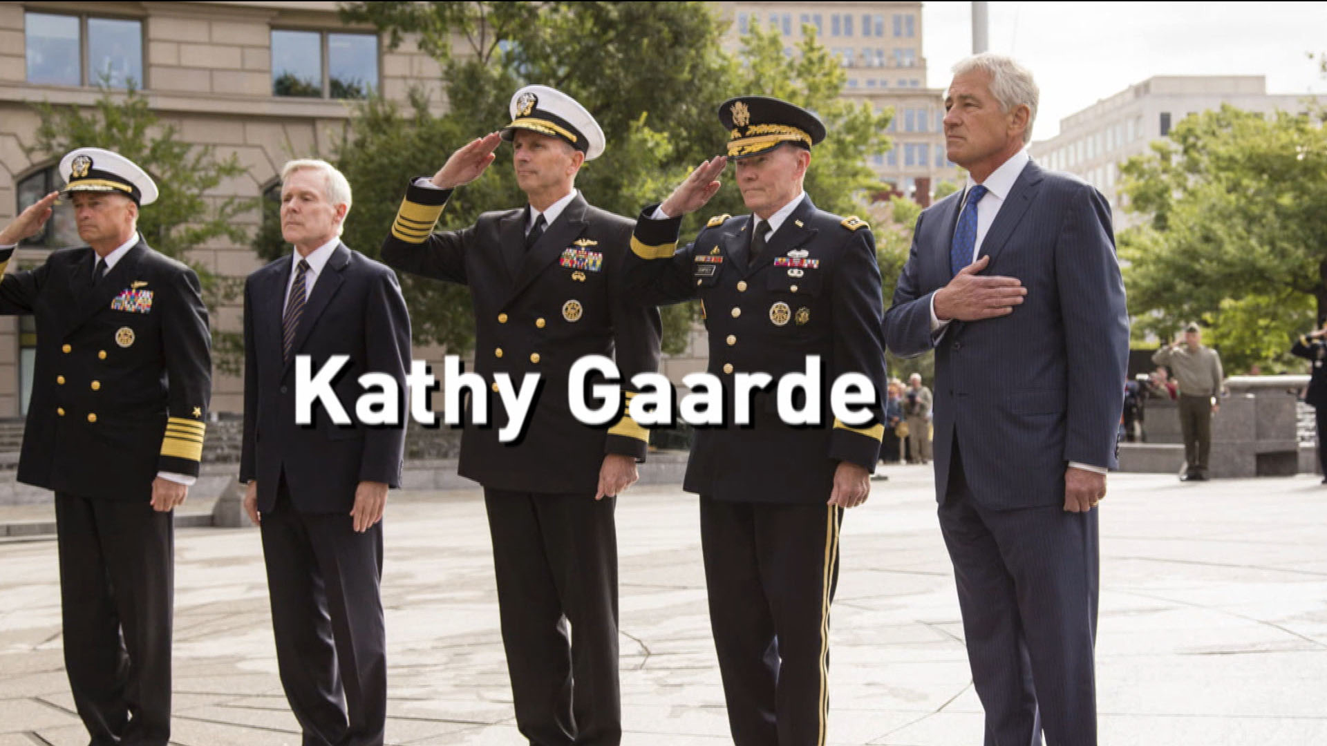 Honoring the Navy Yard shooting victims