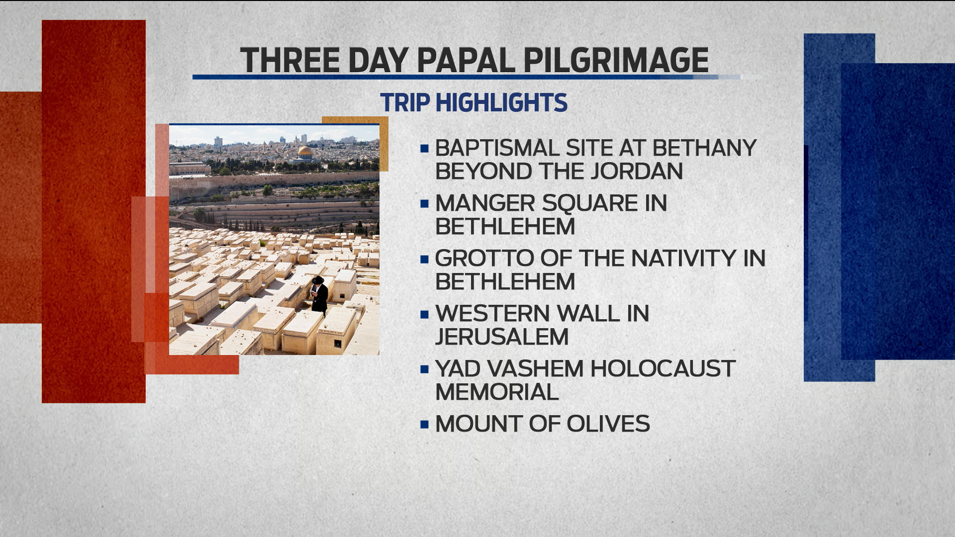 Pope Francis' historic pilgrimage