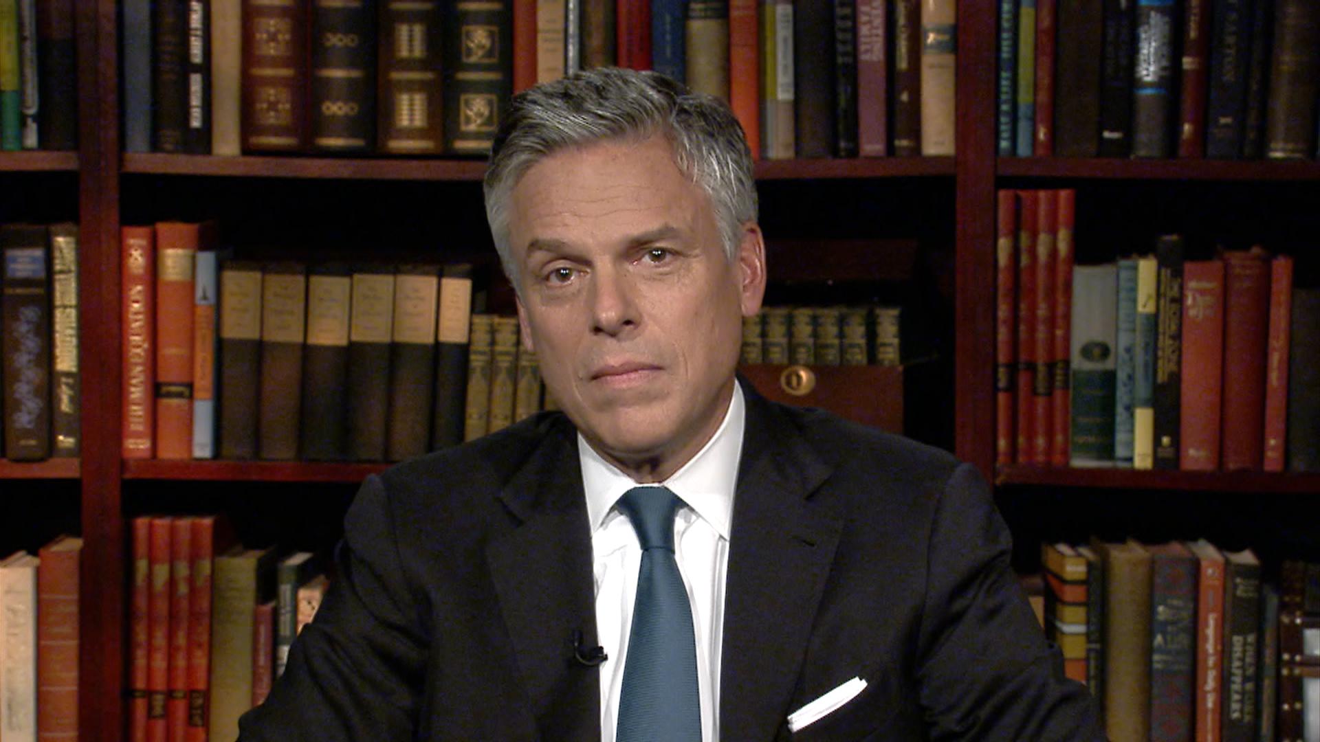 Huntsman: 'We have to resort to diplomacy'
