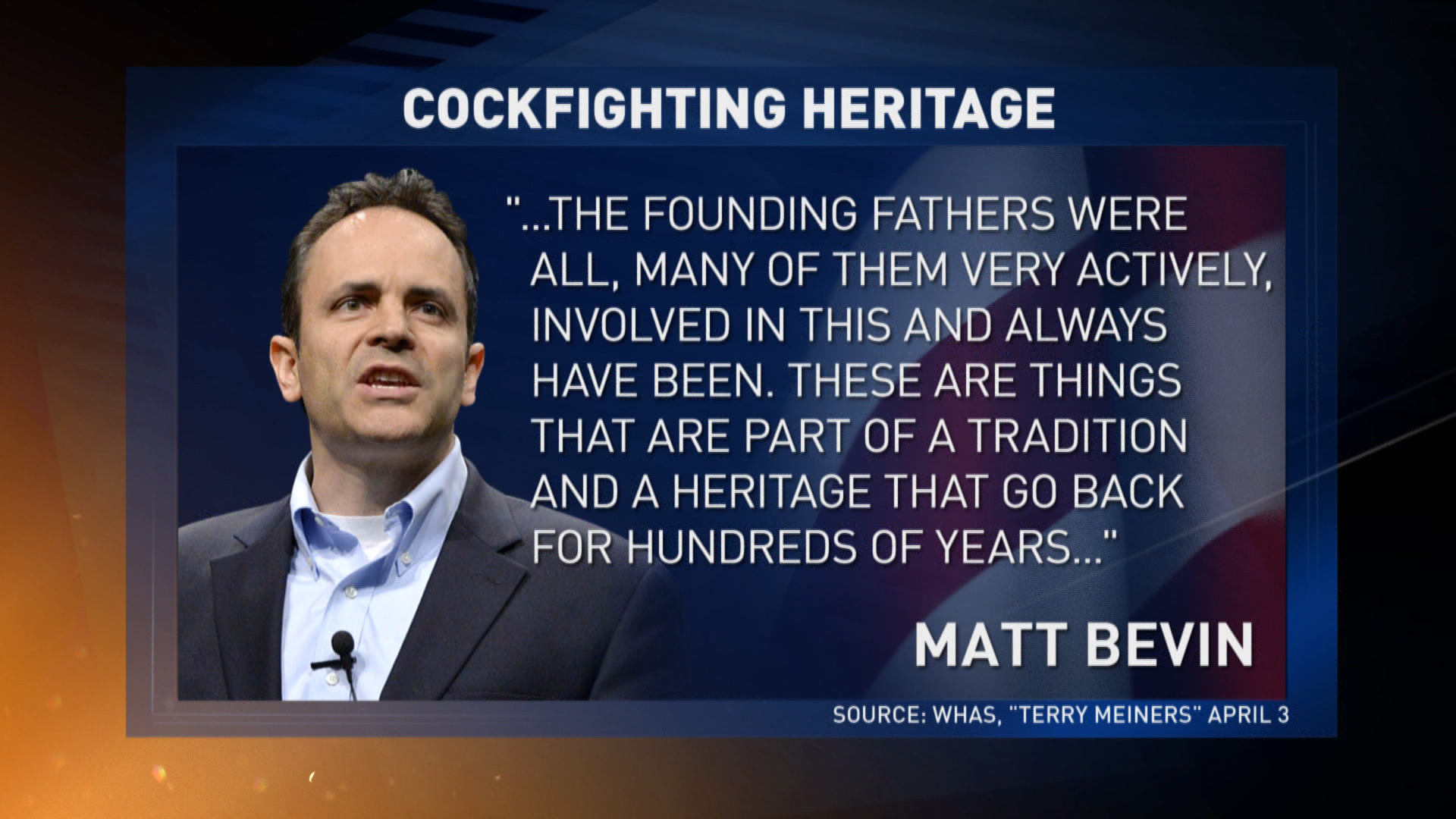 Beck preaches about 'Bevin Almighty'
