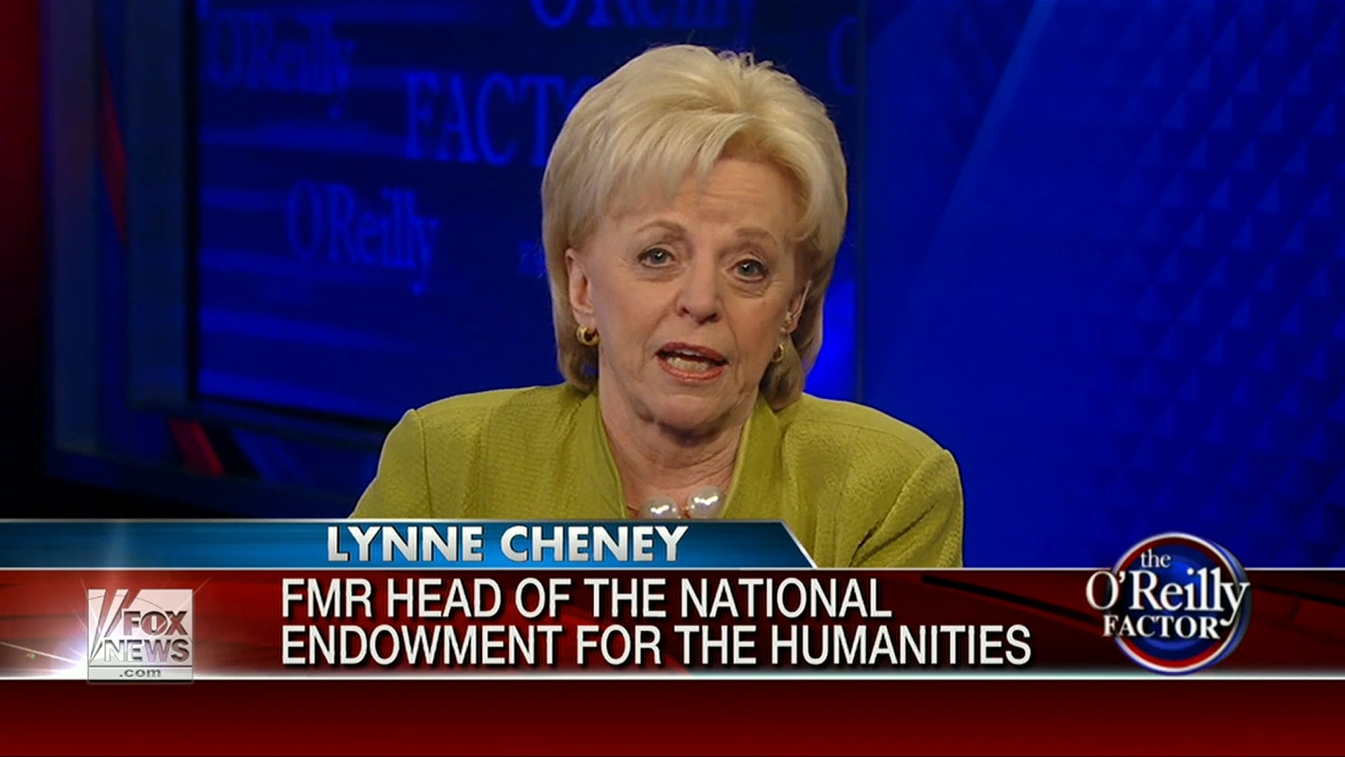 Lynne Cheney's Clinton conspiracy