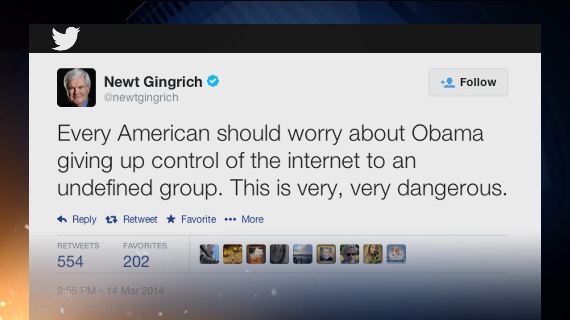 Gingrich's out of this world conspiracy
