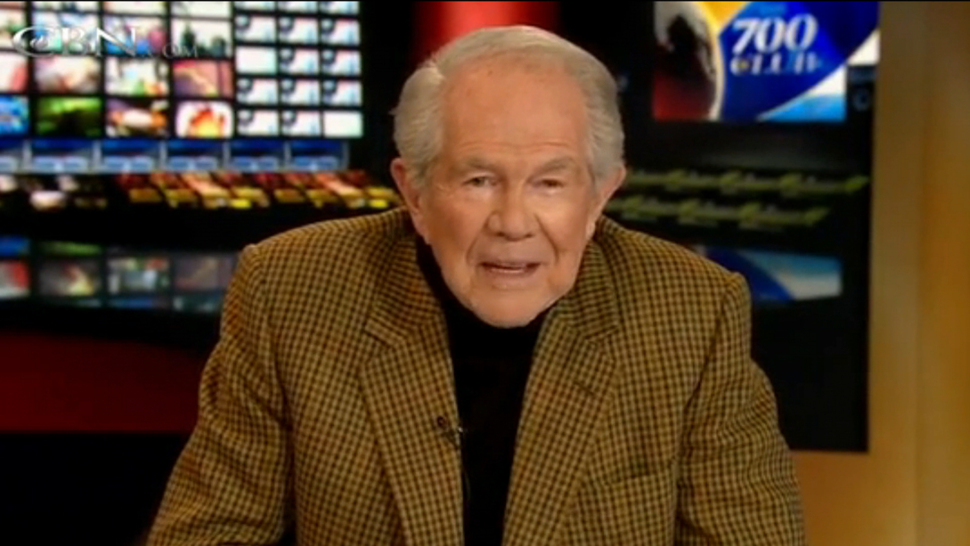 Pat Robertson's lost in space theory