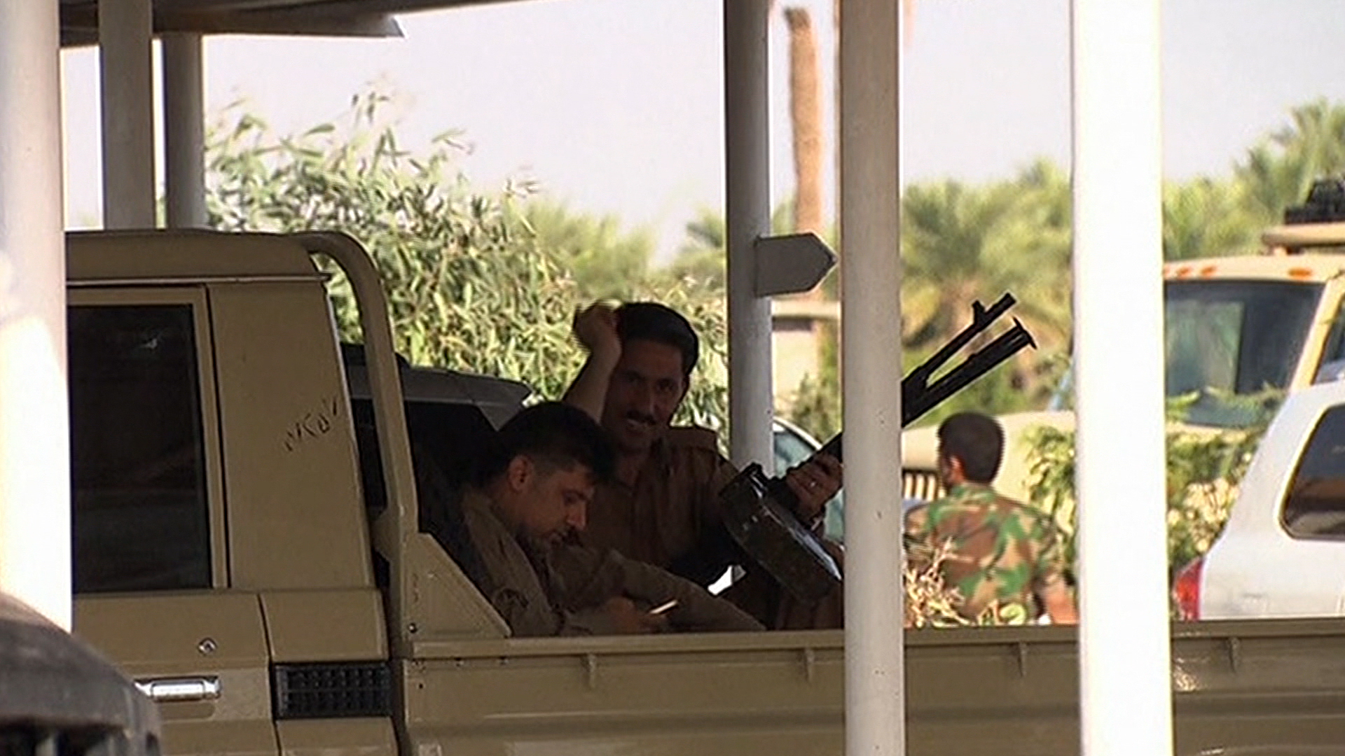 Is Iraq playing host to a 'proxy war'?