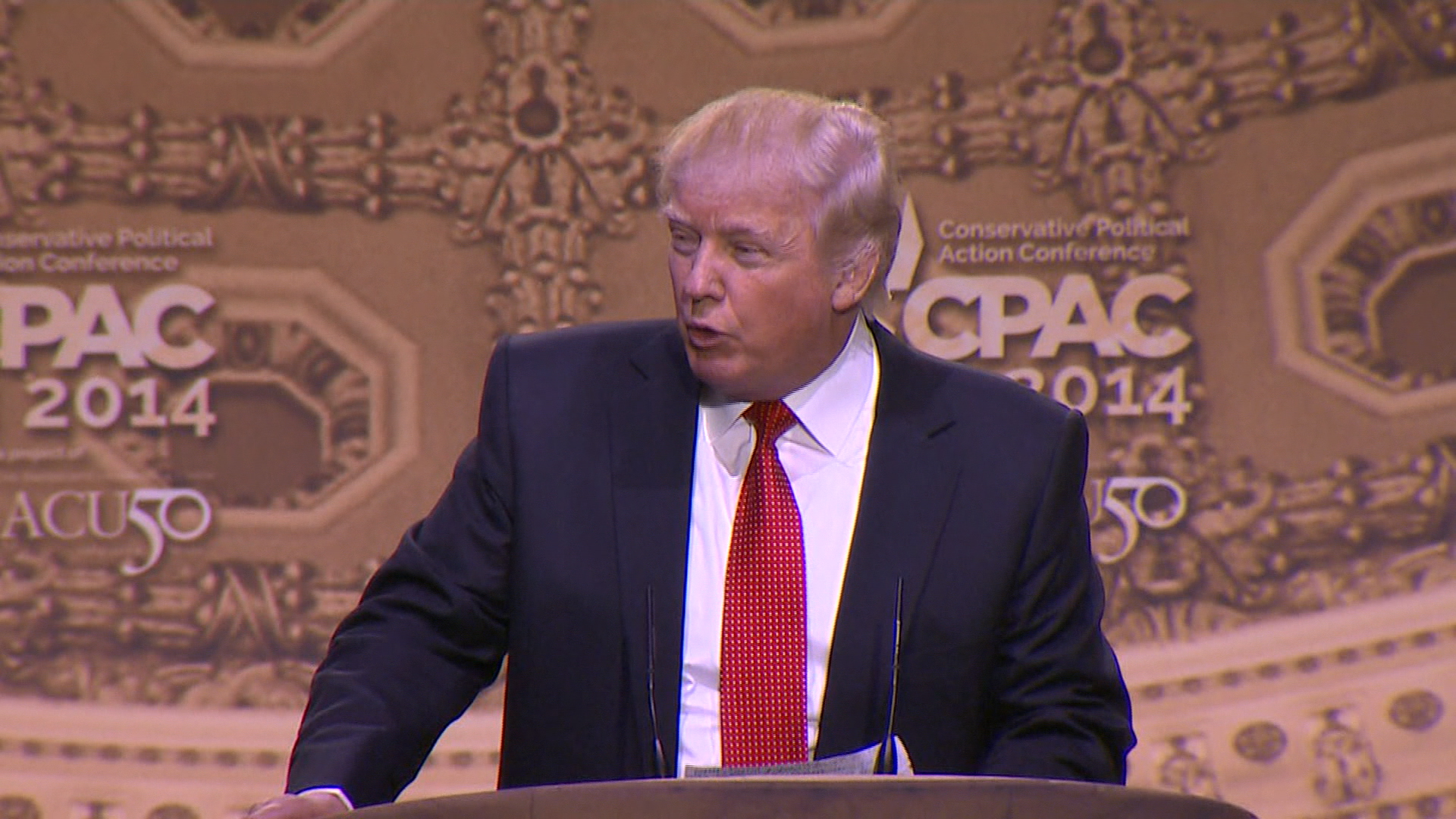 Tough talk from CPAC speakers