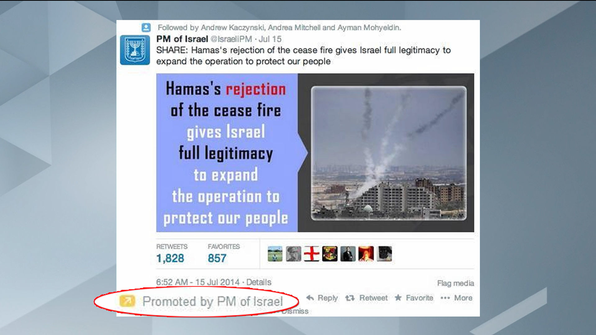 Israel, Hamas start propaganda battle?
