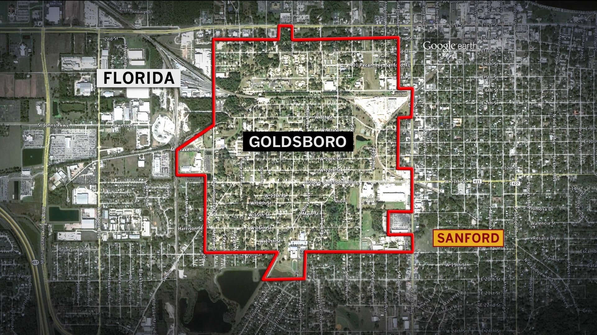 Sanford, Florida: A town divided?