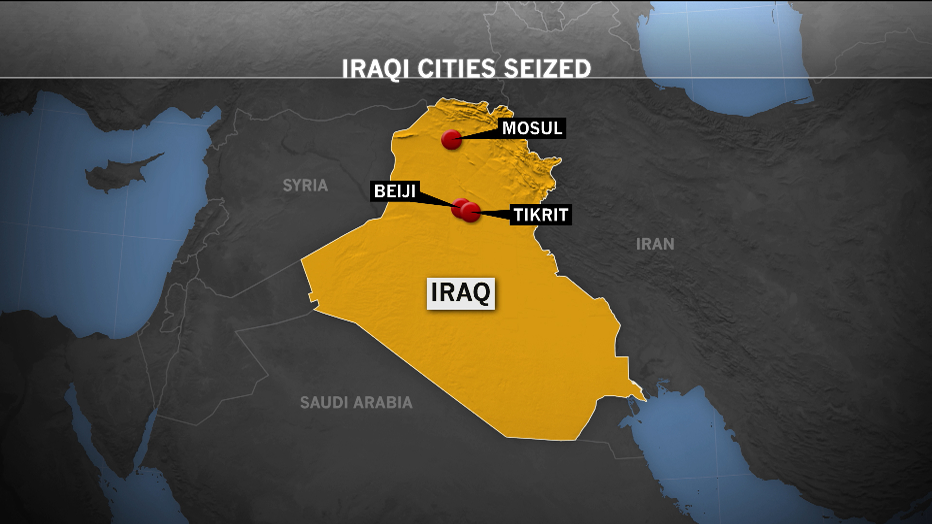 The collapse in Iraq continues