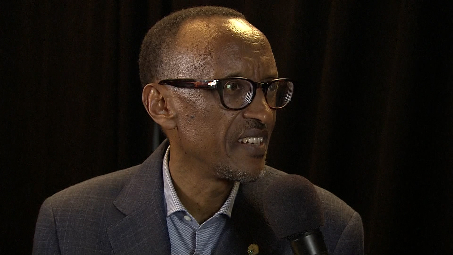Kagame answers questions about lake victims
