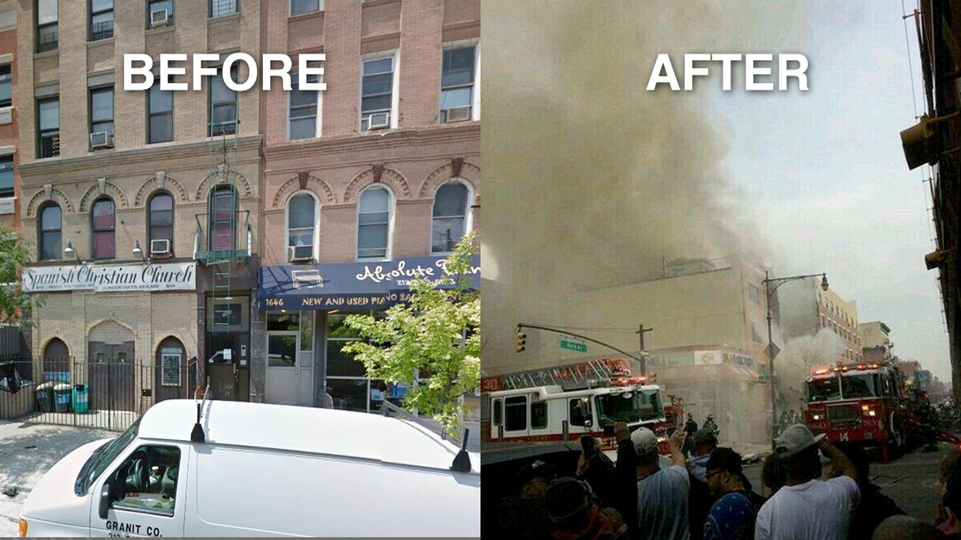 Eyewitness: I heard, felt explosion