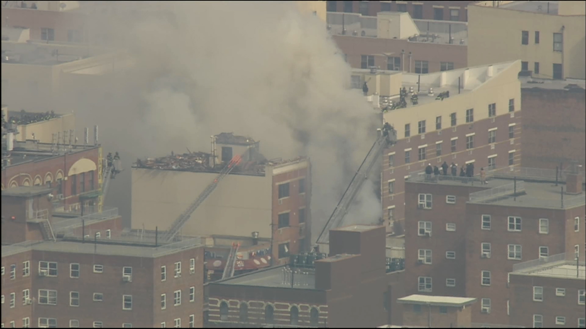 One confirmed dead in NYC building collapse