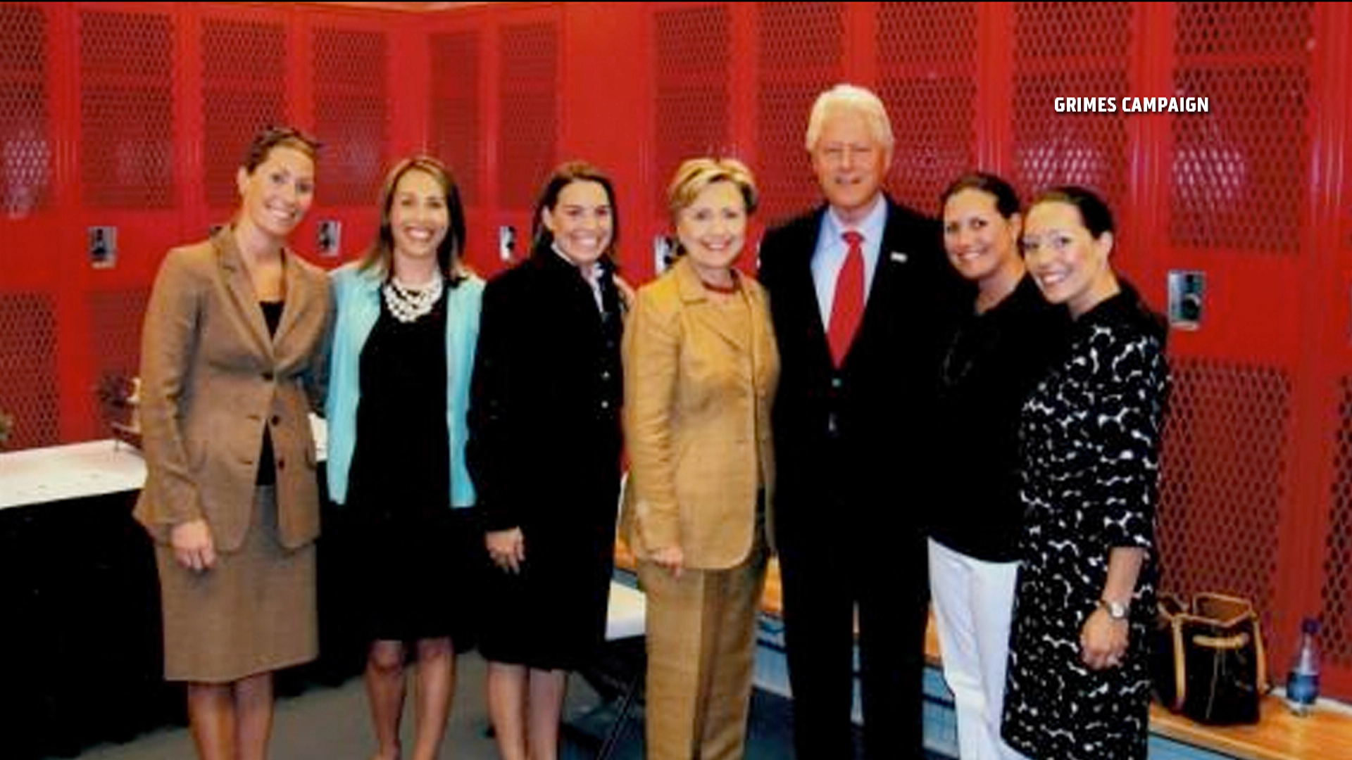 Bill Clinton hits the campaign trail