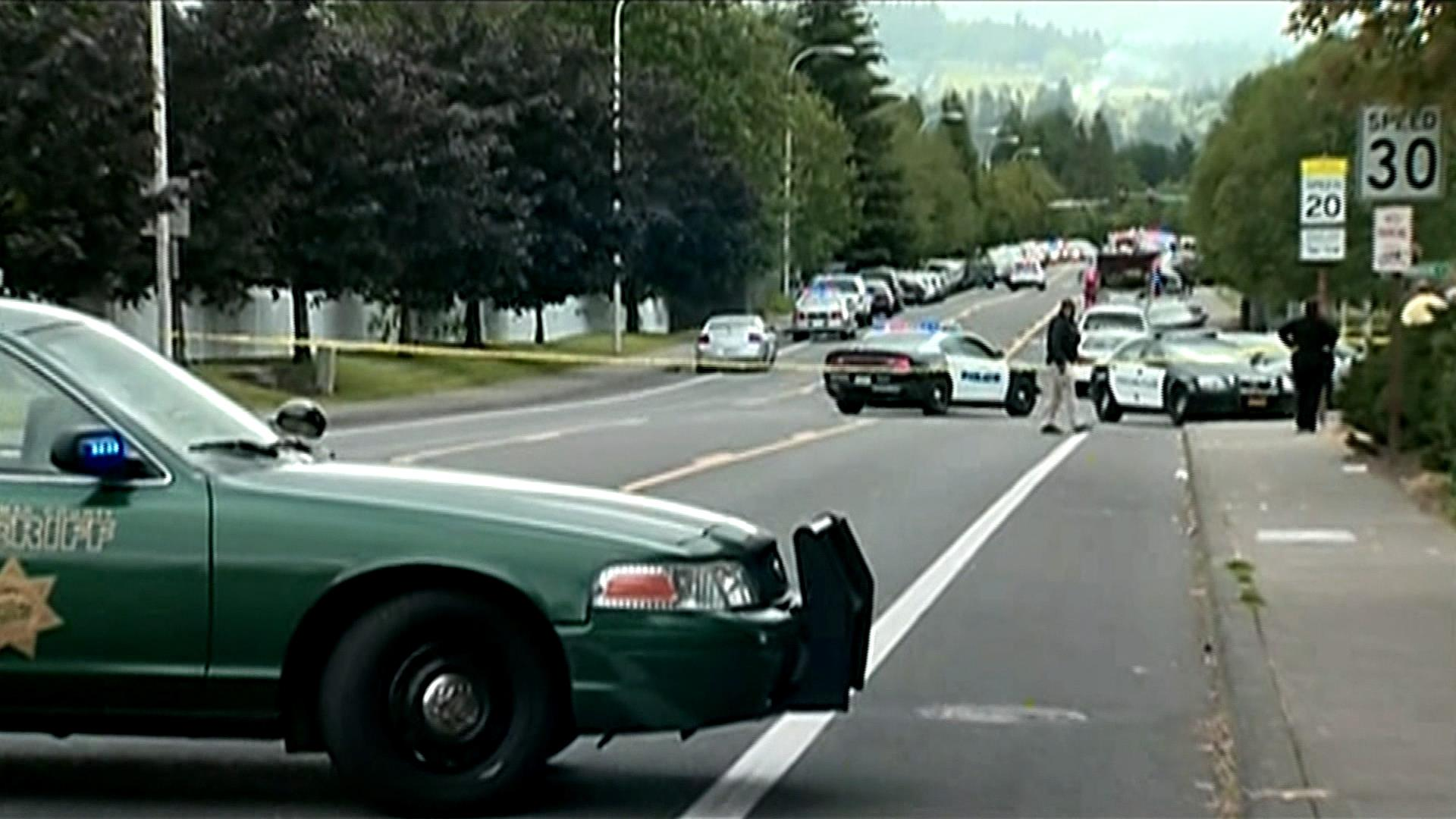 Reports of gunfire at Oregon high school