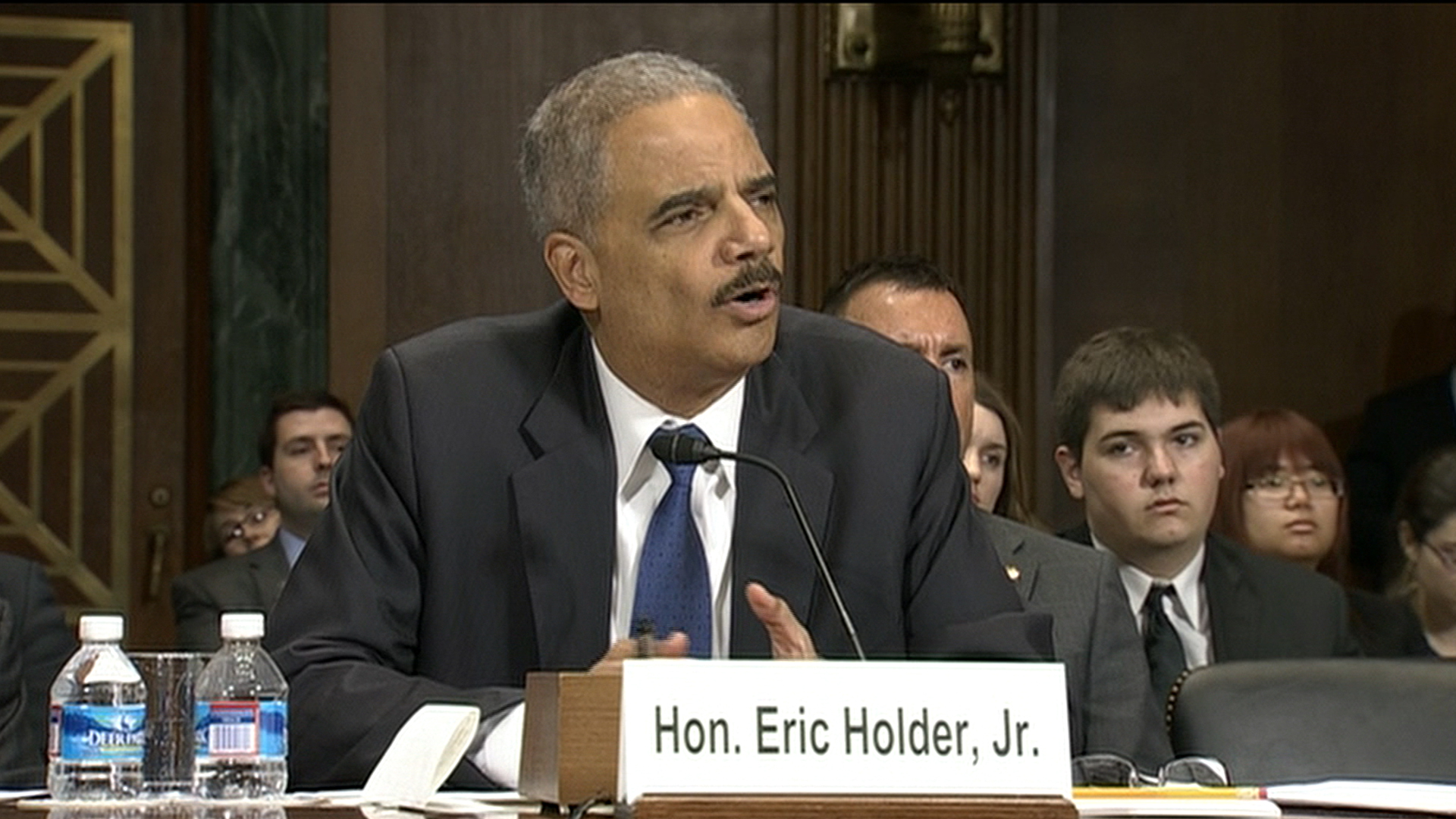Holder faces Senate committee
