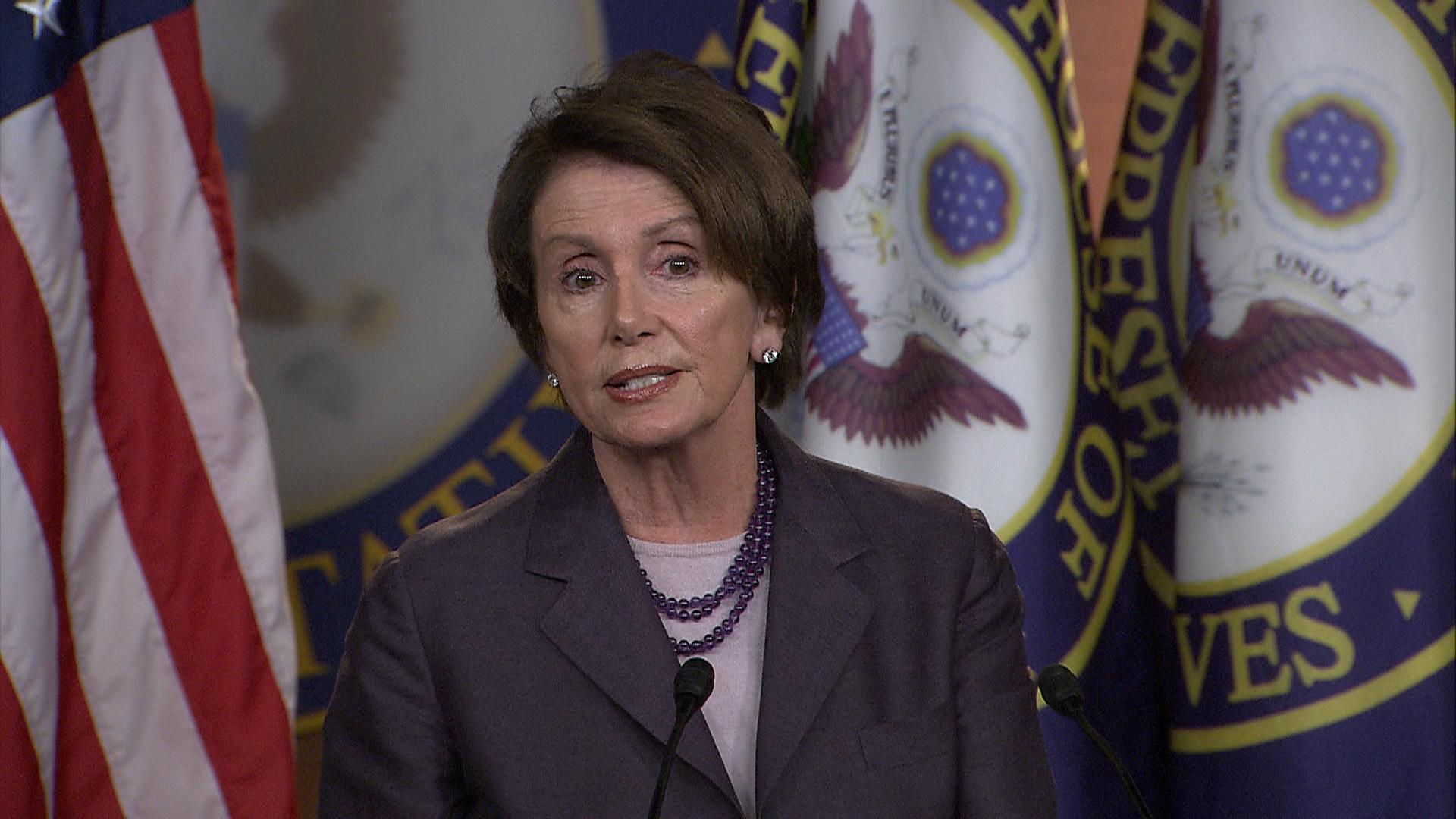 Pelosi speaks on Benghazi