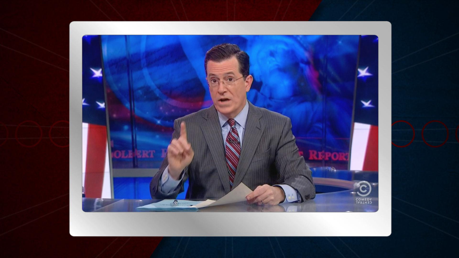 Colbert's take on Christie vs. Wildstein