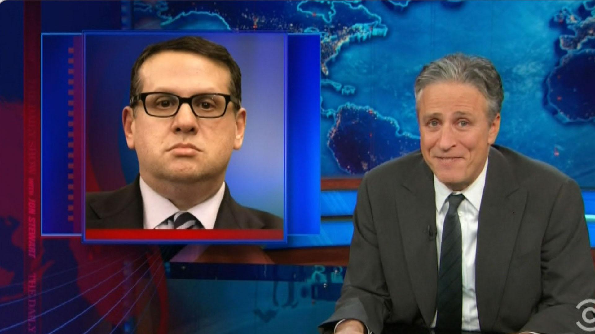 Daily Show mocks Christie's high school drama