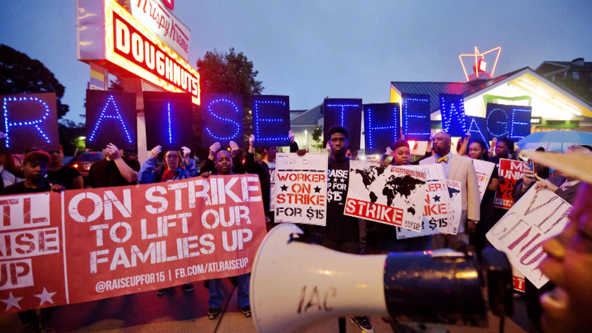 Fast food strikes go global