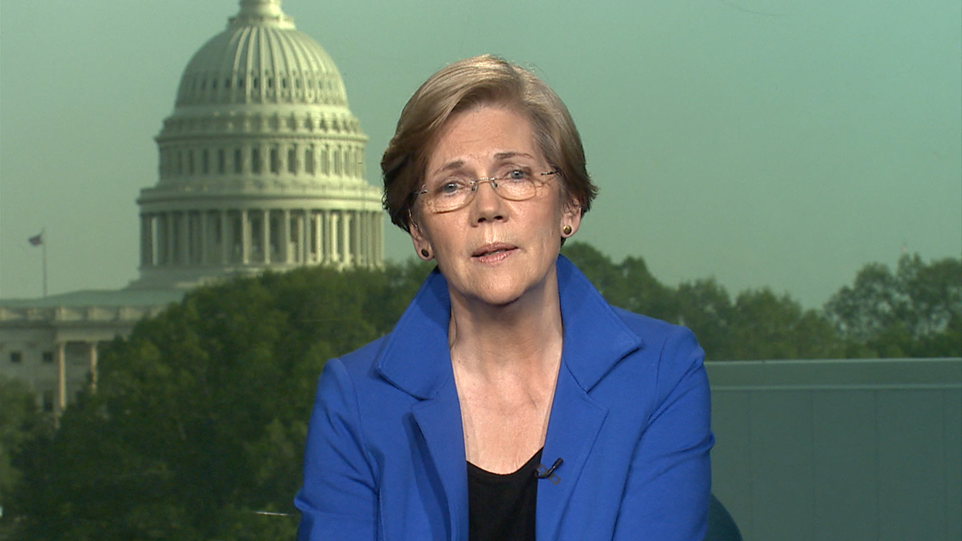 Sen. Elizabeth Warren talks income inequality