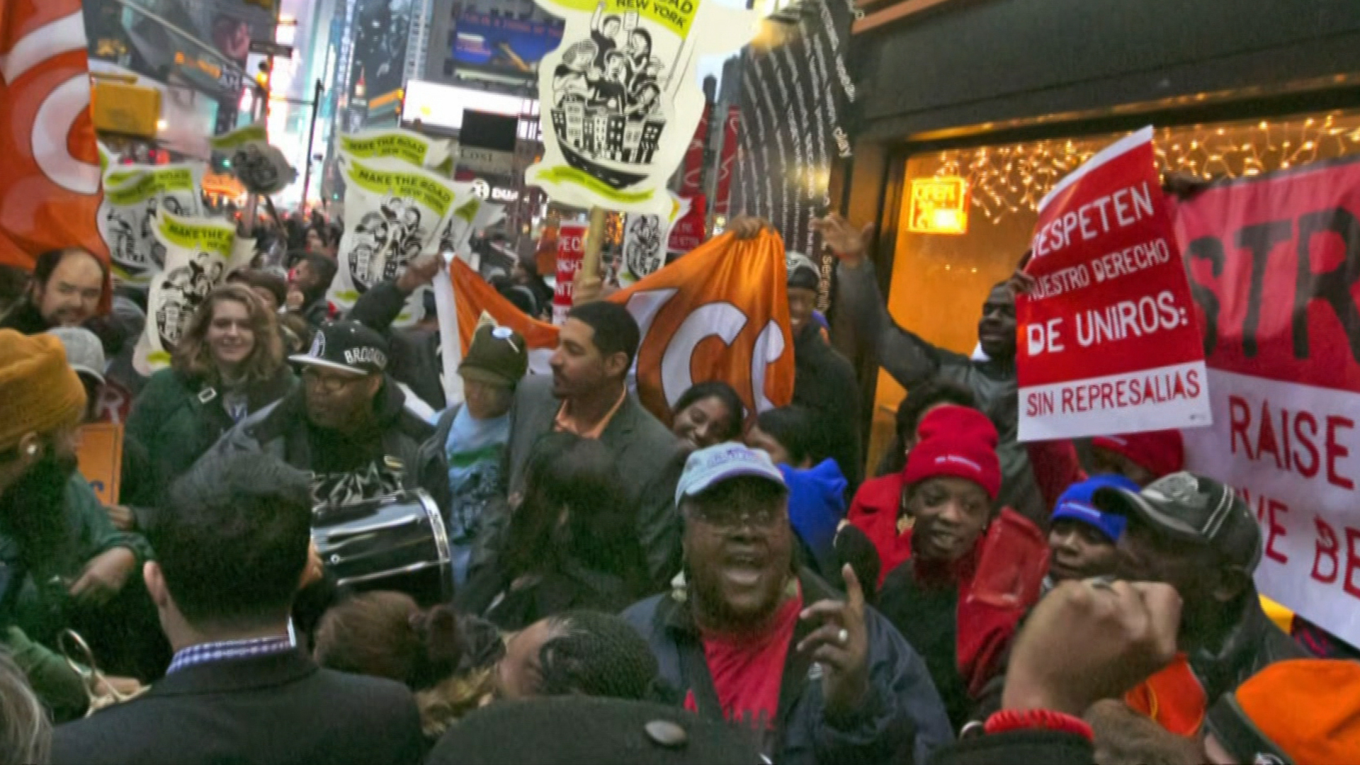 The fight for a higher minimum wage