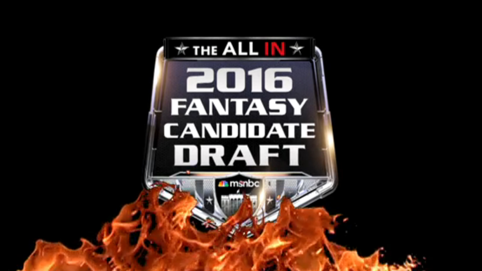 The All In 2016 Fantasy Candidate Draft