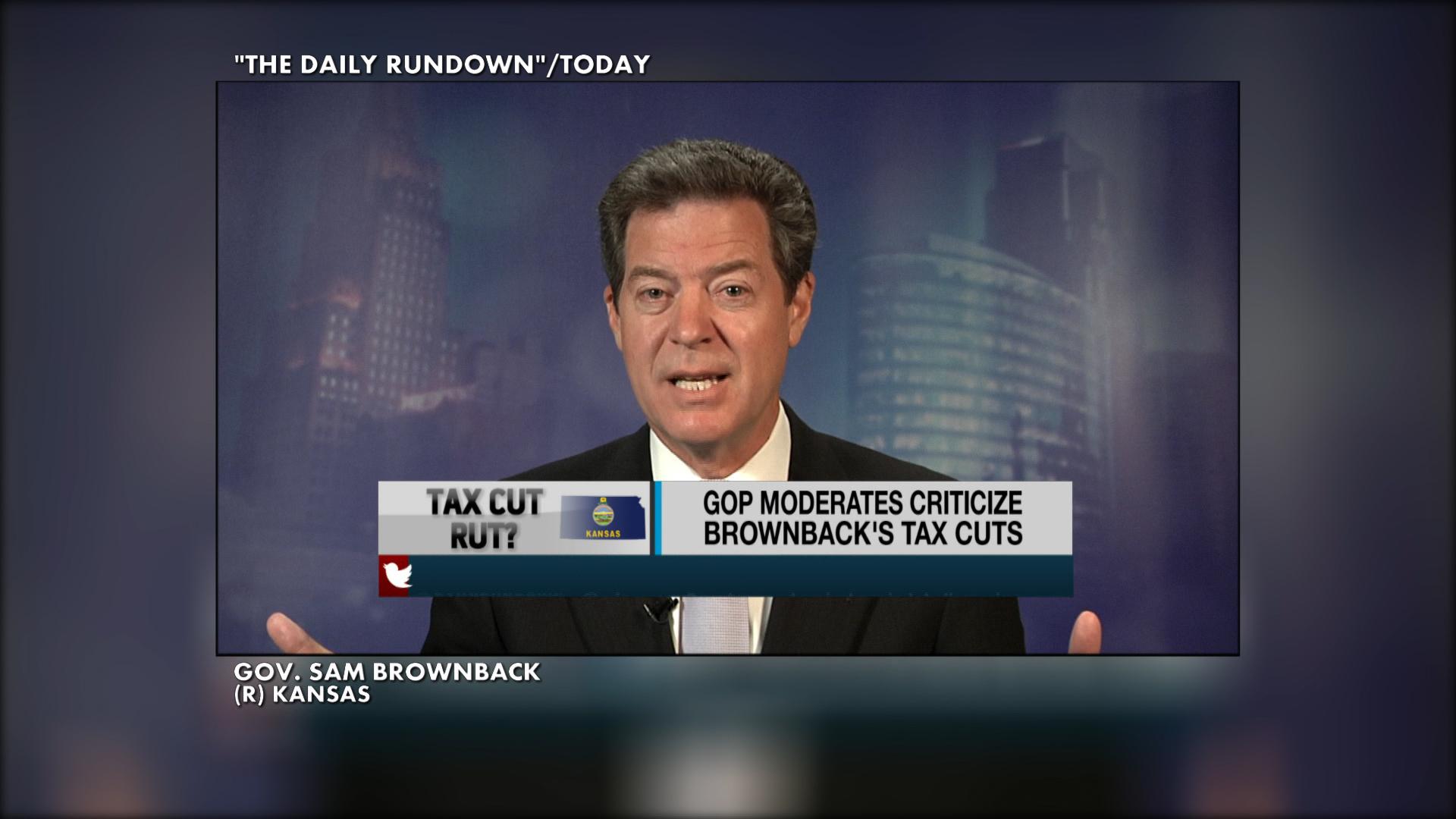Kansas tax cuts backfire