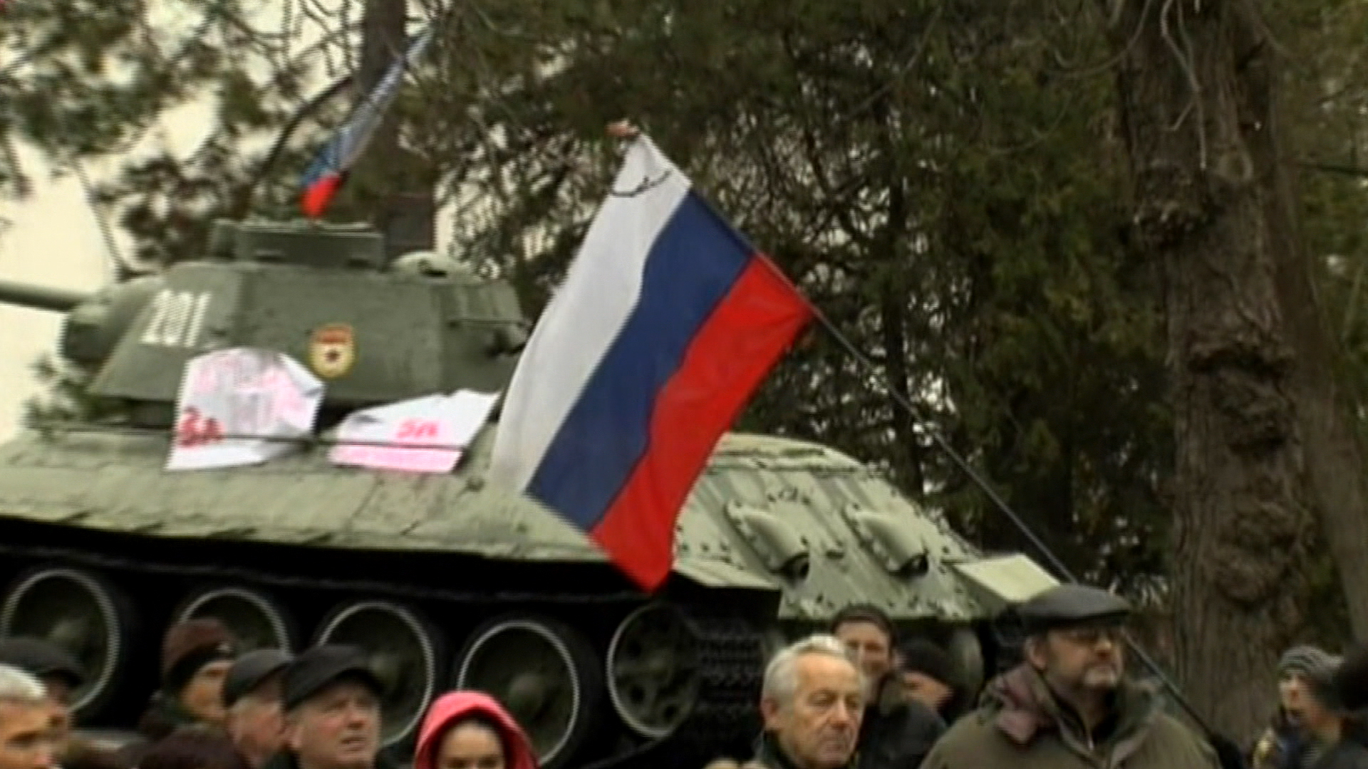 Can the Crimea situation be solved in time?