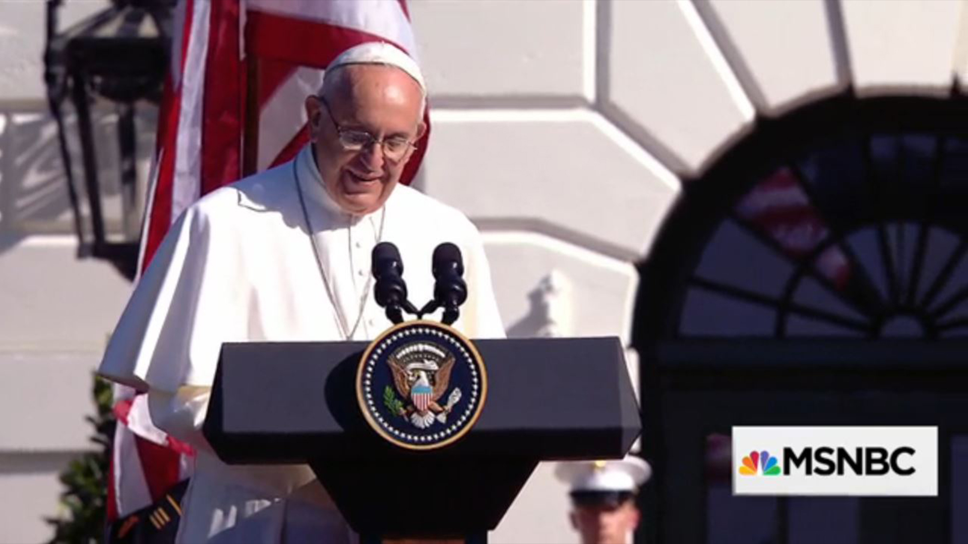 Pope speaks out on immigration, climate...