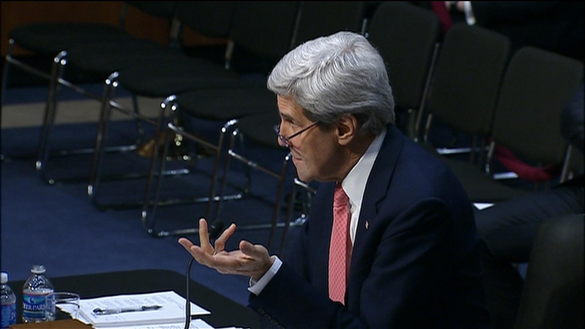 Kerry's 'apartheid state' remark stokes ire