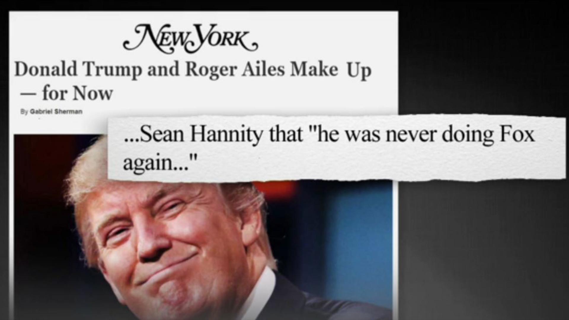 Trump and Fox News end post-debate feud