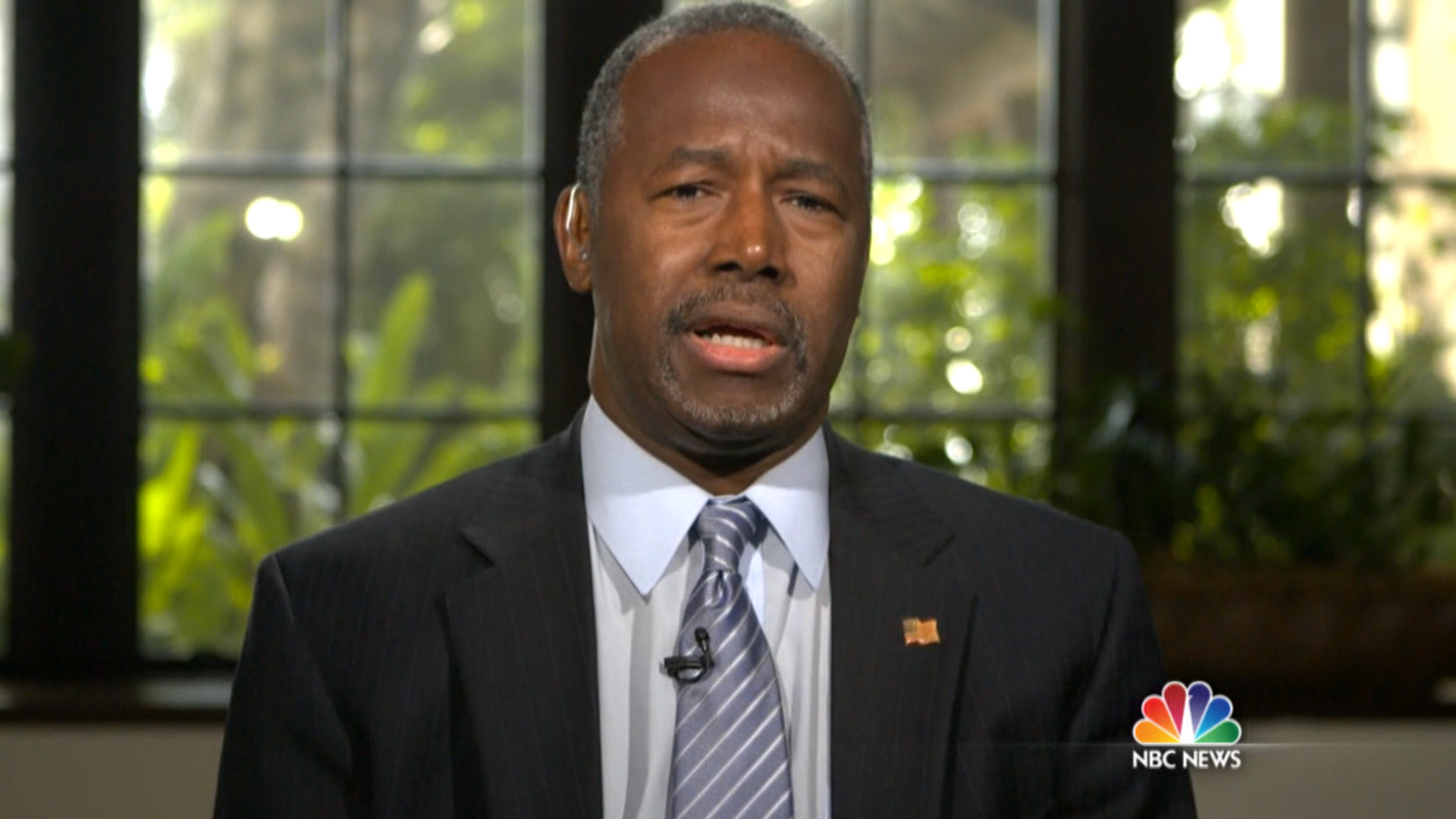 Carson doubles down on anti-Muslim position