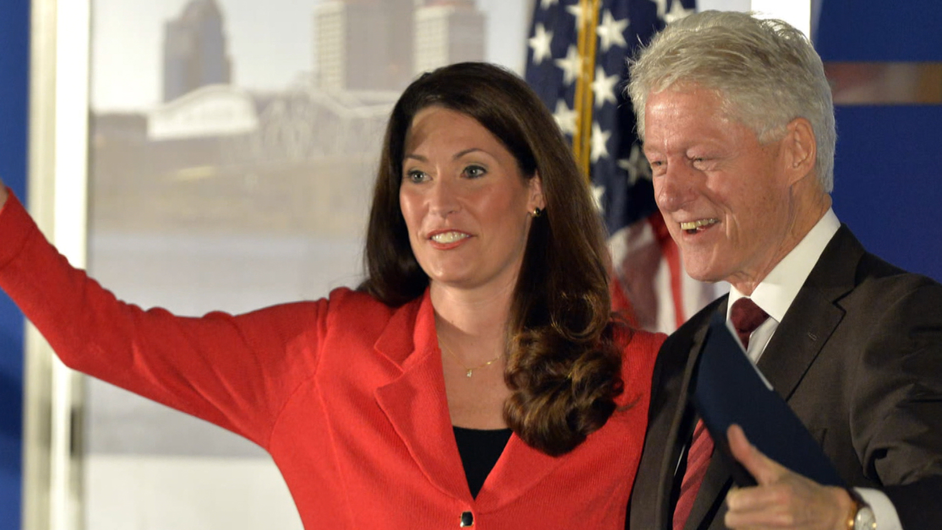 Bill Clinton is back on the campaign trail