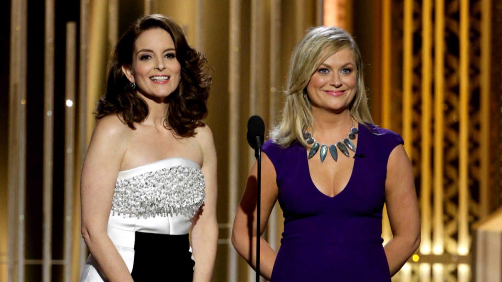 Brave comedy at the Golden Globes