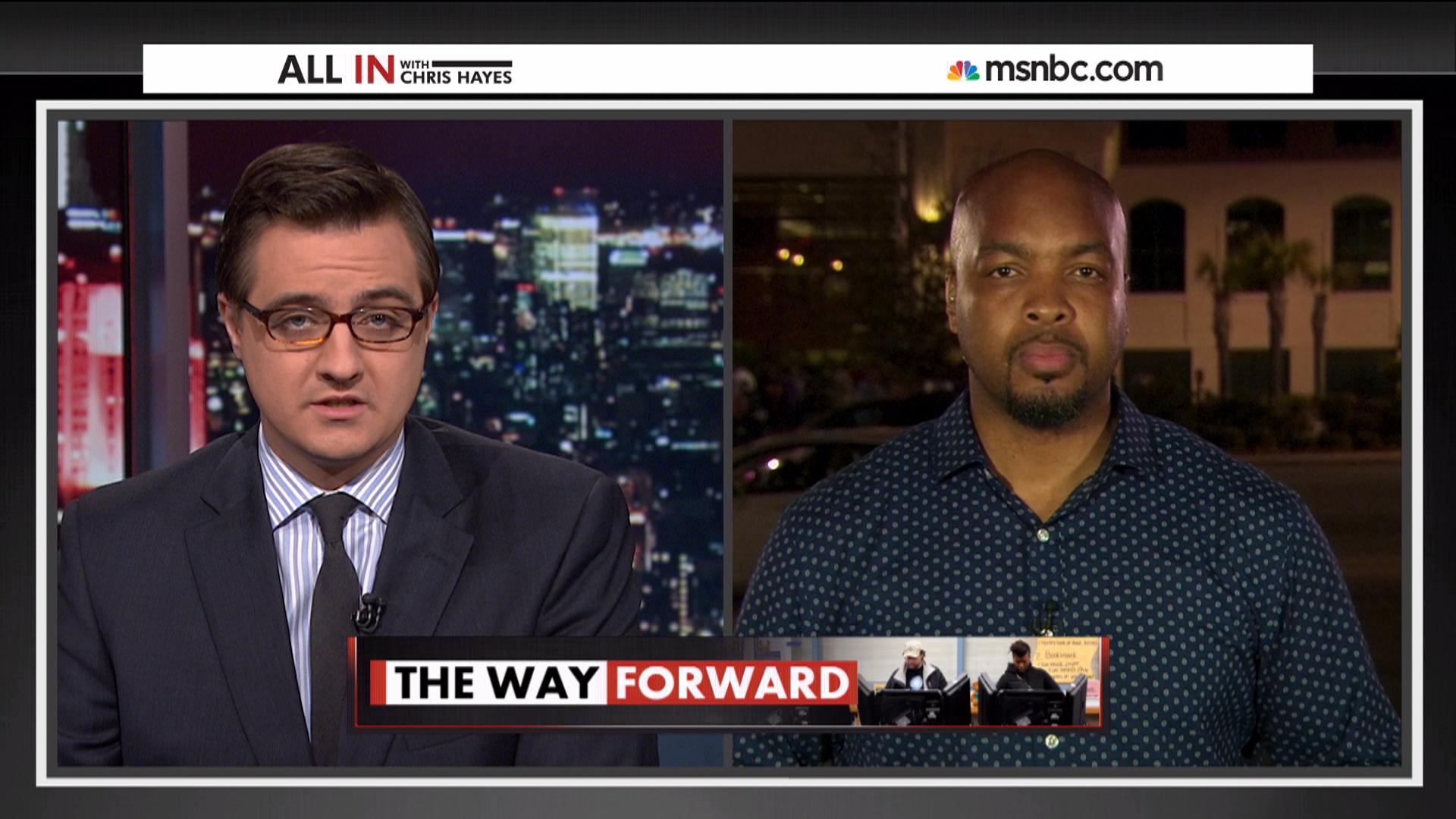 Historic election in Ferguson, MO