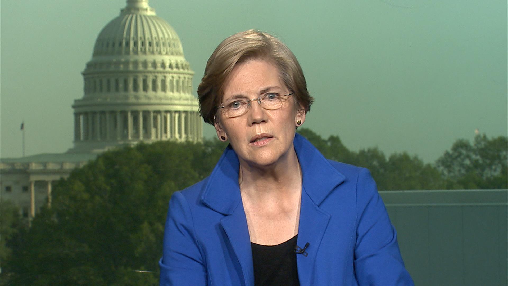 Elizabeth Warren: 'It's up to us to fight...