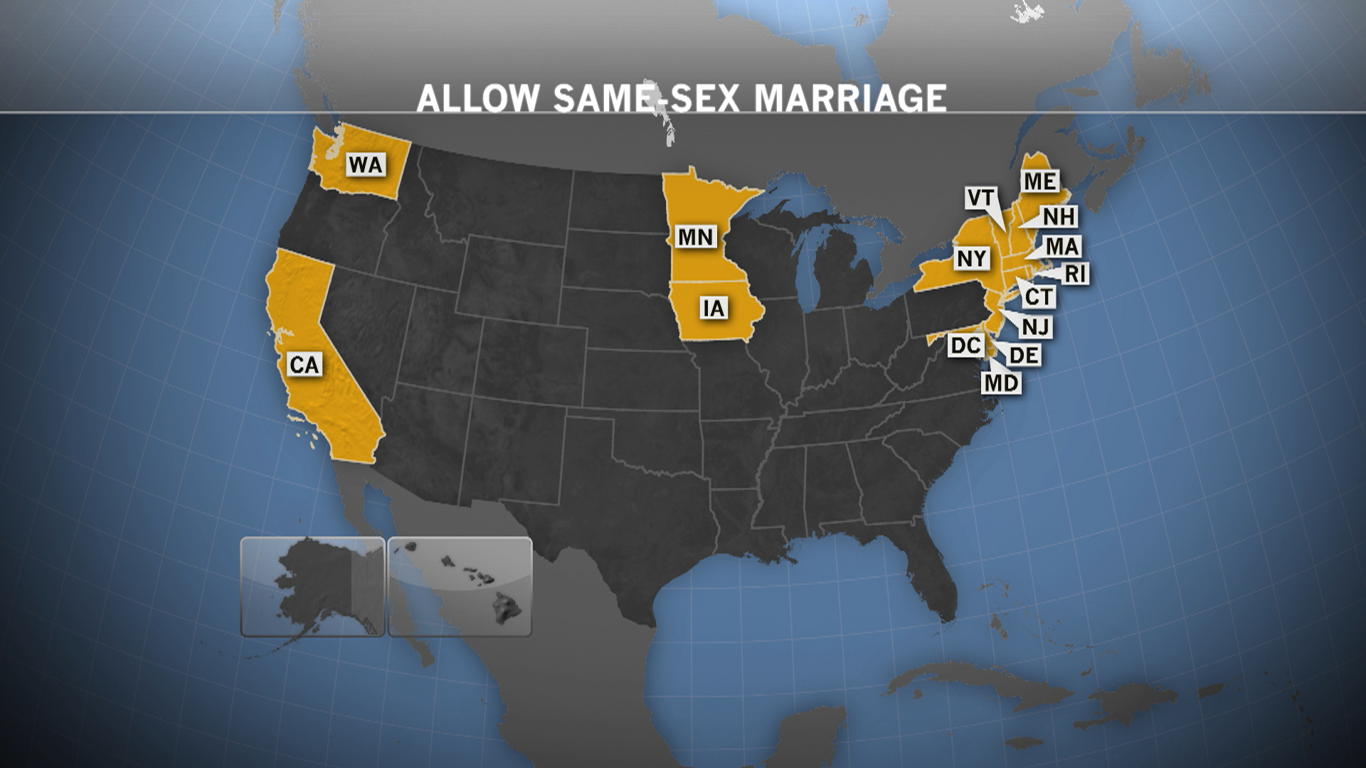 Marriage equality in Hawaii?