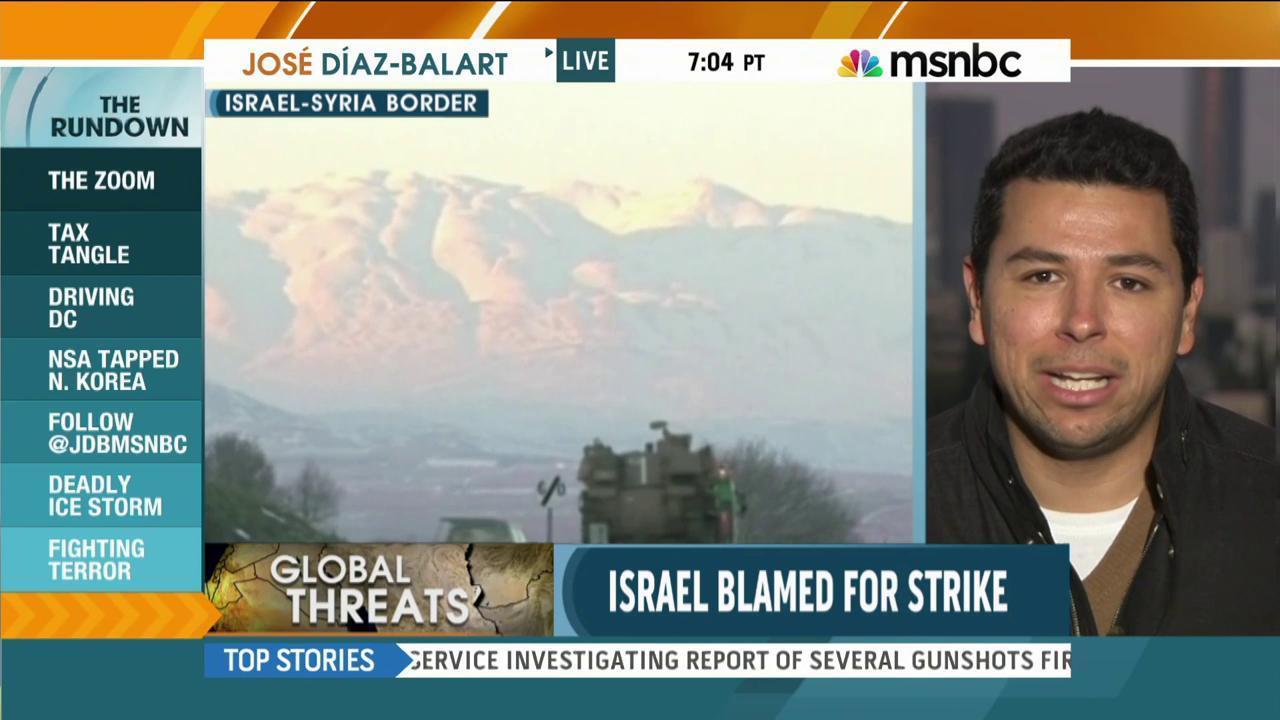 Israeli airstrike kills Hezbollah fighters