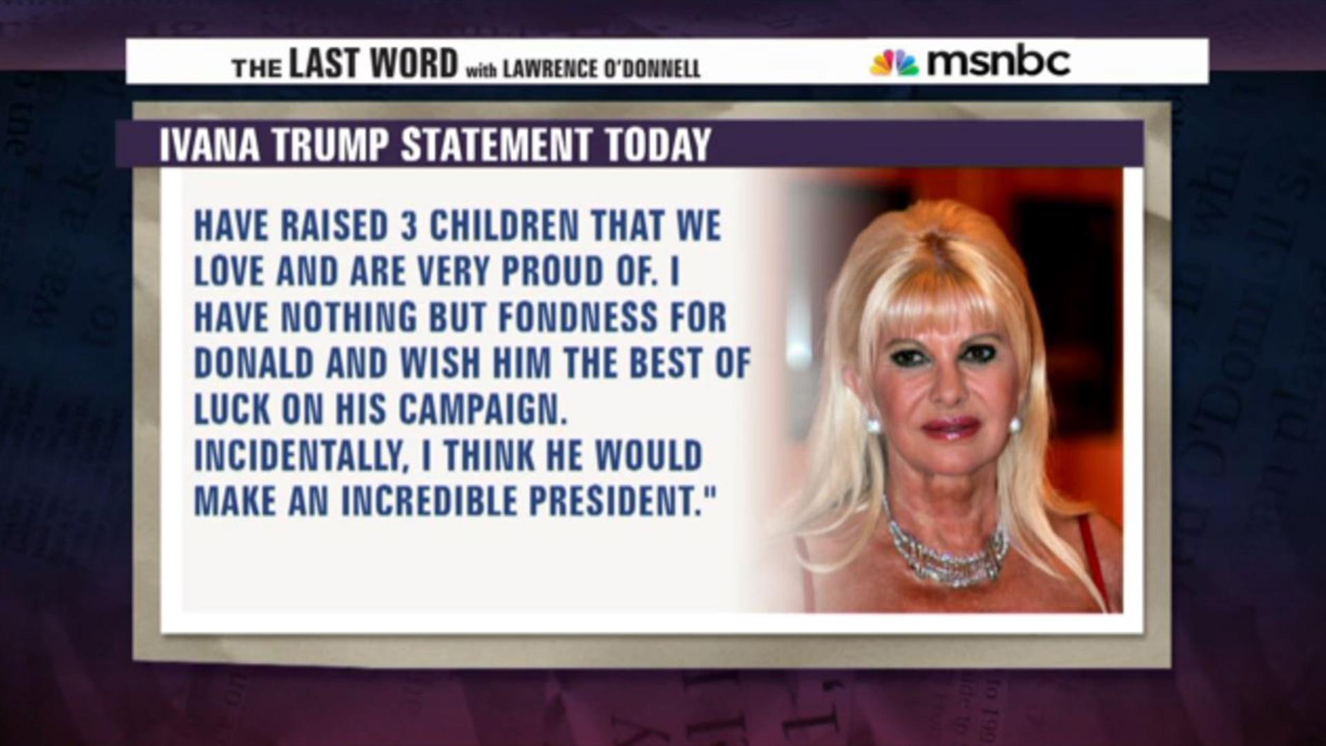 Trump responds to 1989 rape allegation