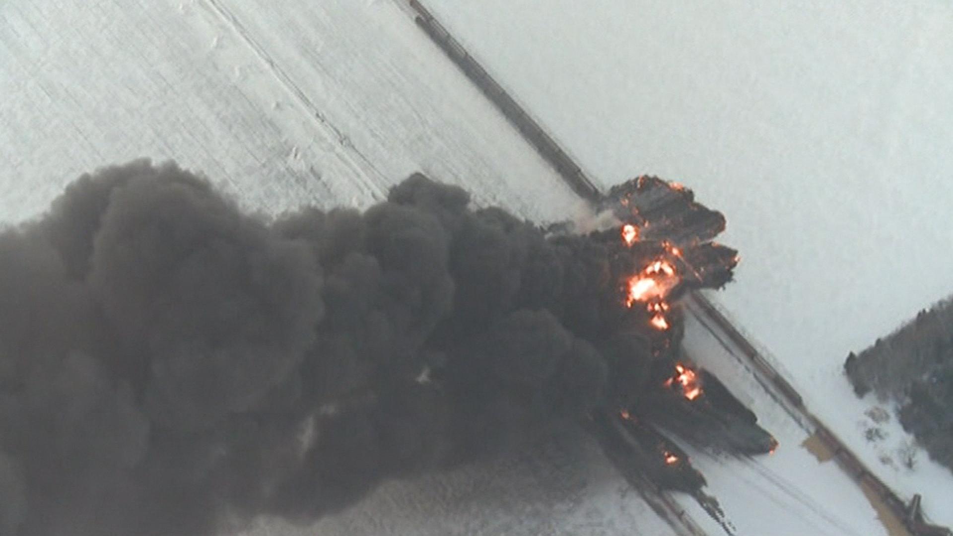 Disastrous record shows tank car hazard