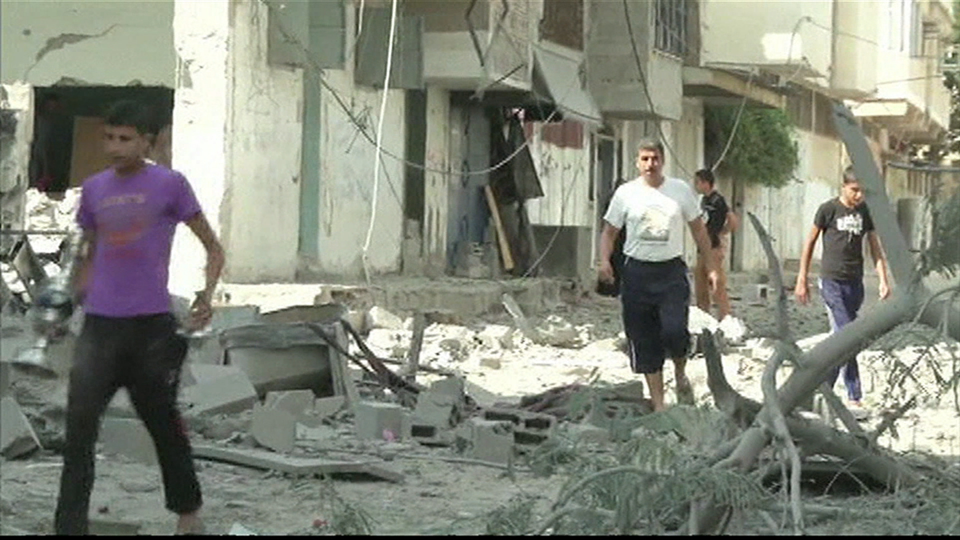 White House moves to calm Israel/Gaza strife