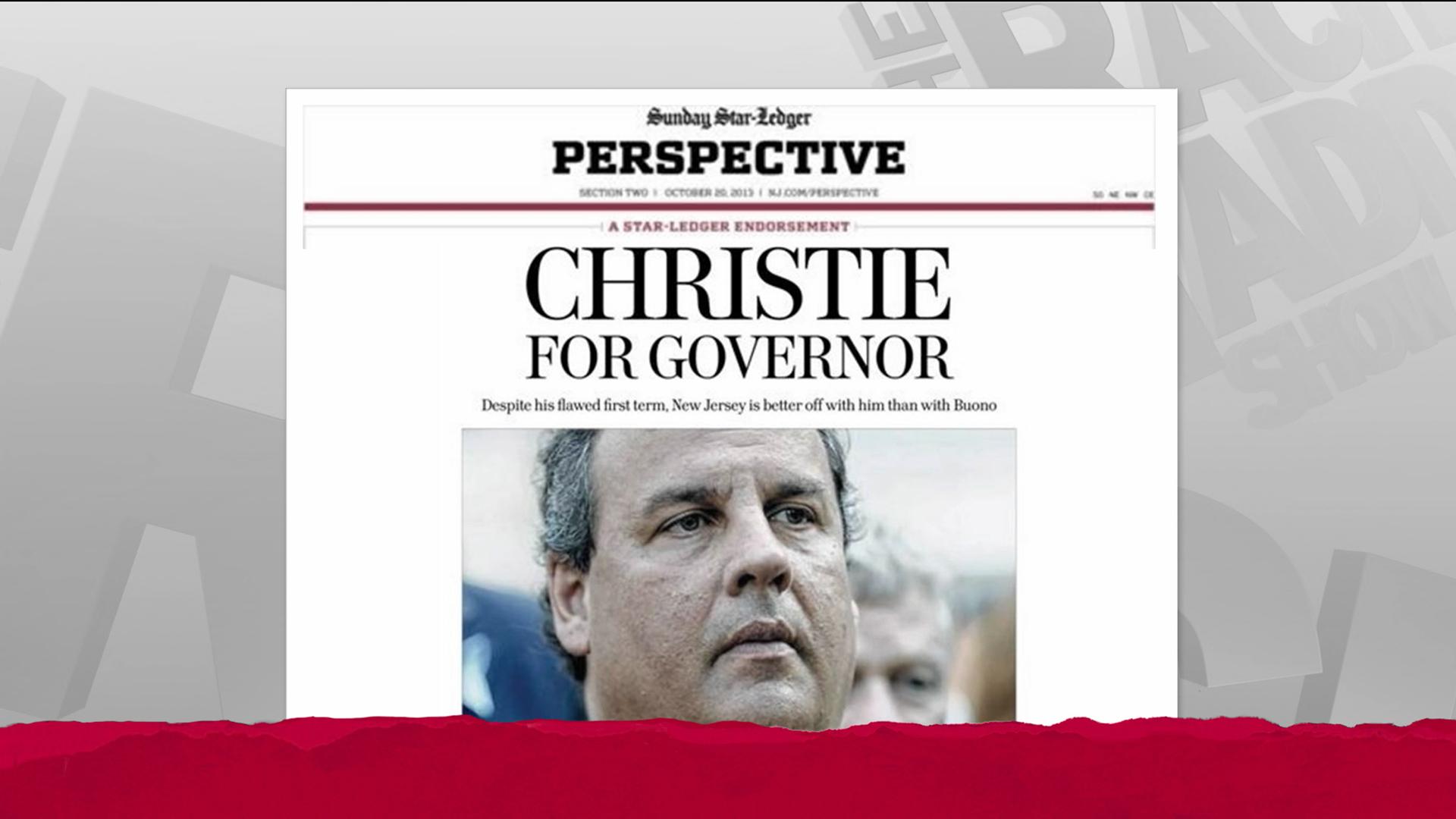 The weirdest newspaper endorsement ever