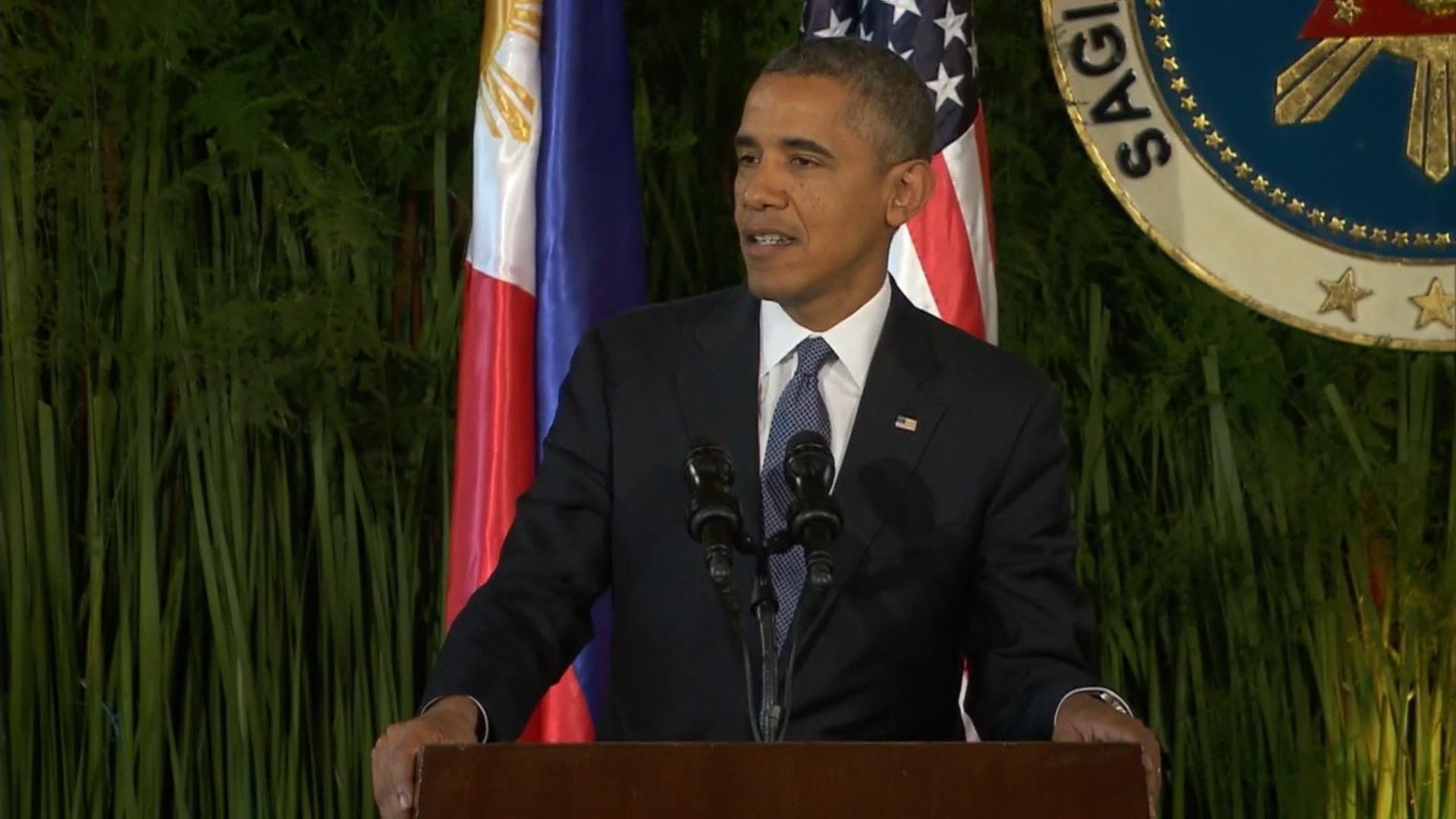 Obama wields new era's big stick