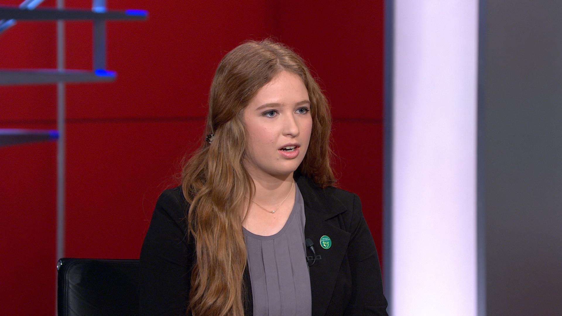Newtown teen leads gun-safety youth movement