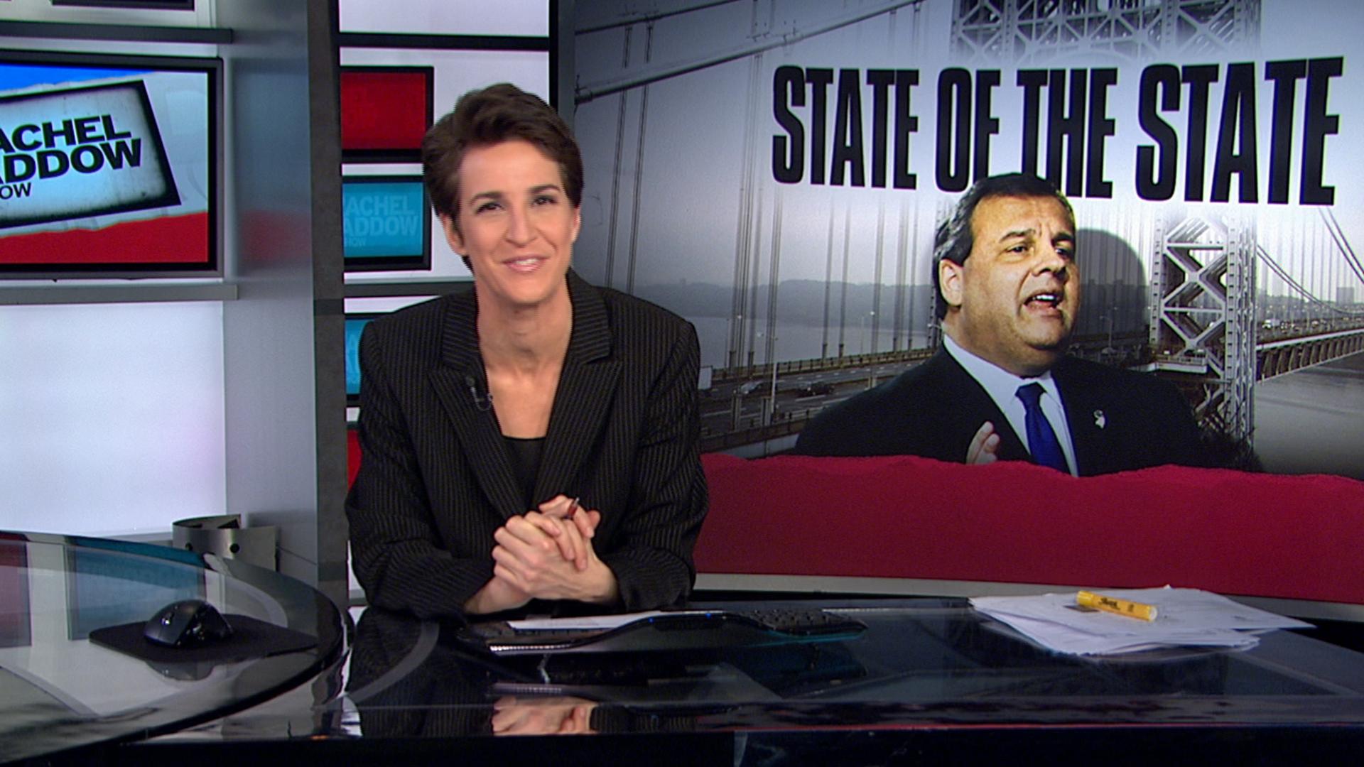 MSNBC to air Christie address, 3pm ET