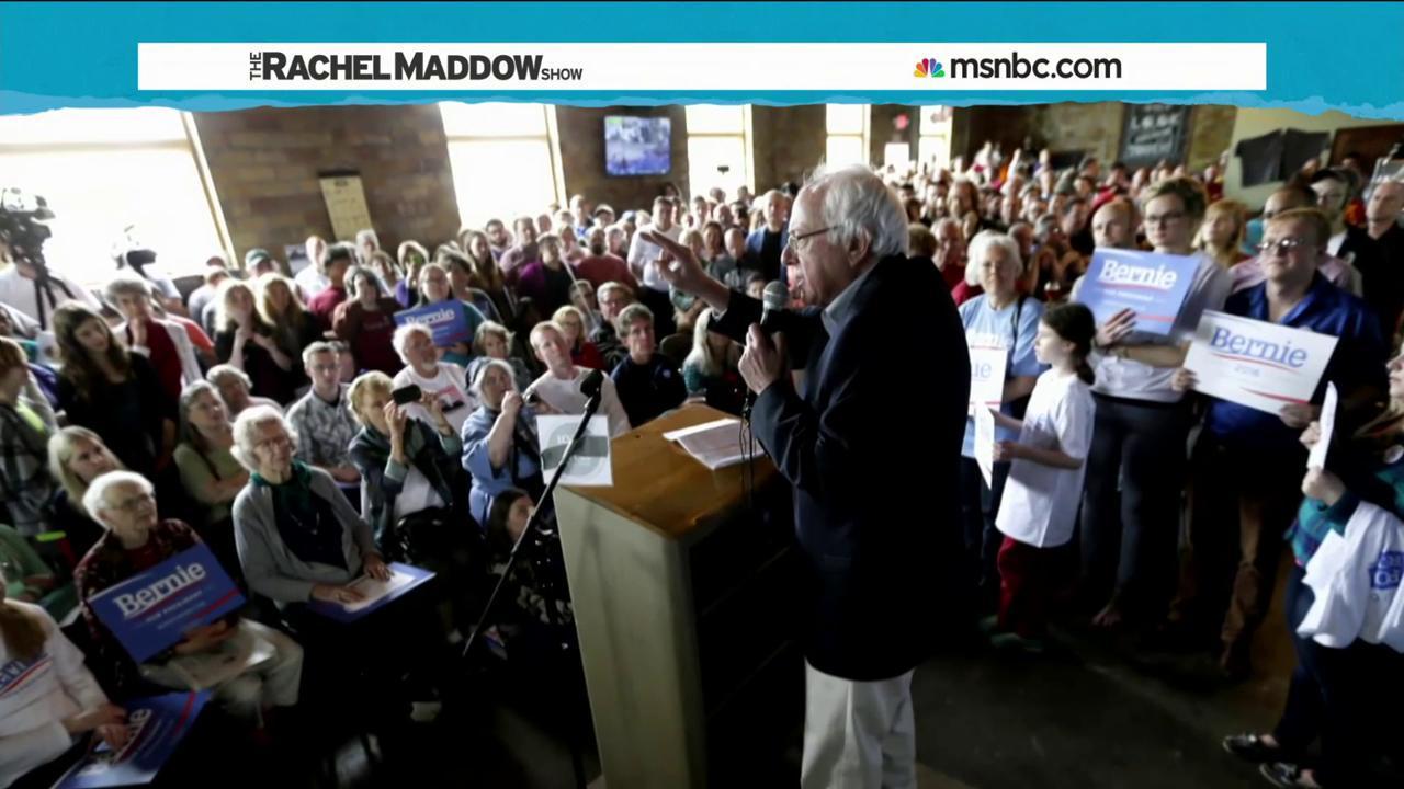 Sanders enjoying campaign 'Bernie boomlet'